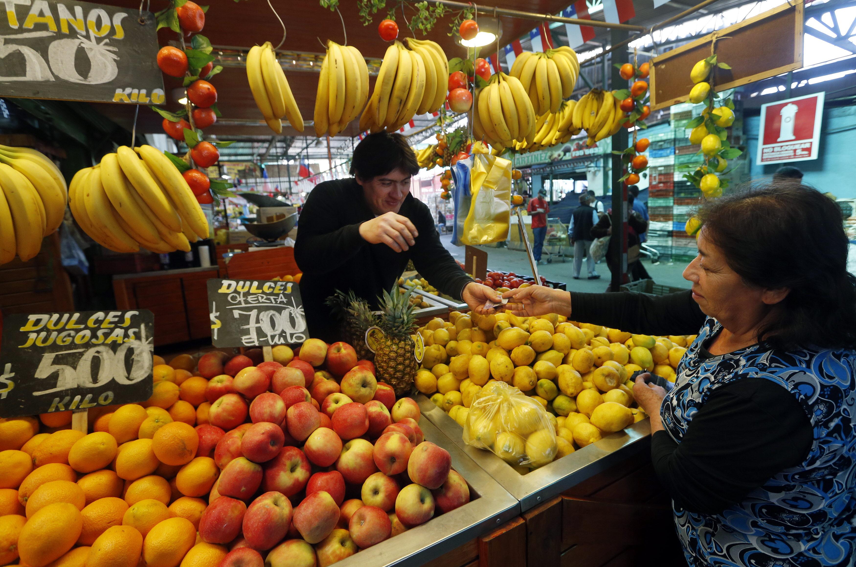 Aromas de ayer y hoy, encantos de la Vega Central de Santiago de Chile