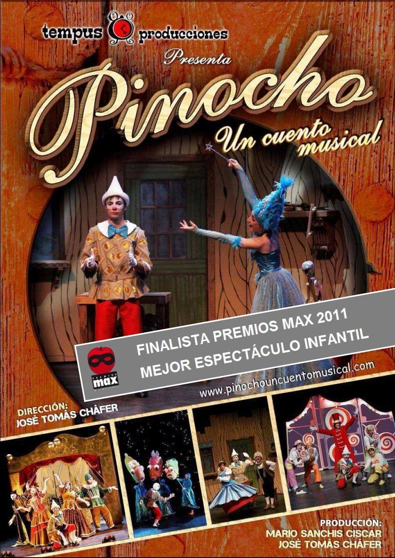 El Niemeyer acoge el espectáculo 'Pinocho, un cuento musical', dirigido por Tomás Cháfer