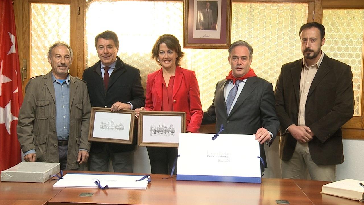 Barcina celebra el 290 aniversario de Nuevo Baztán alabando el carácter emprendedor del fundador Juan de Goyeneche
