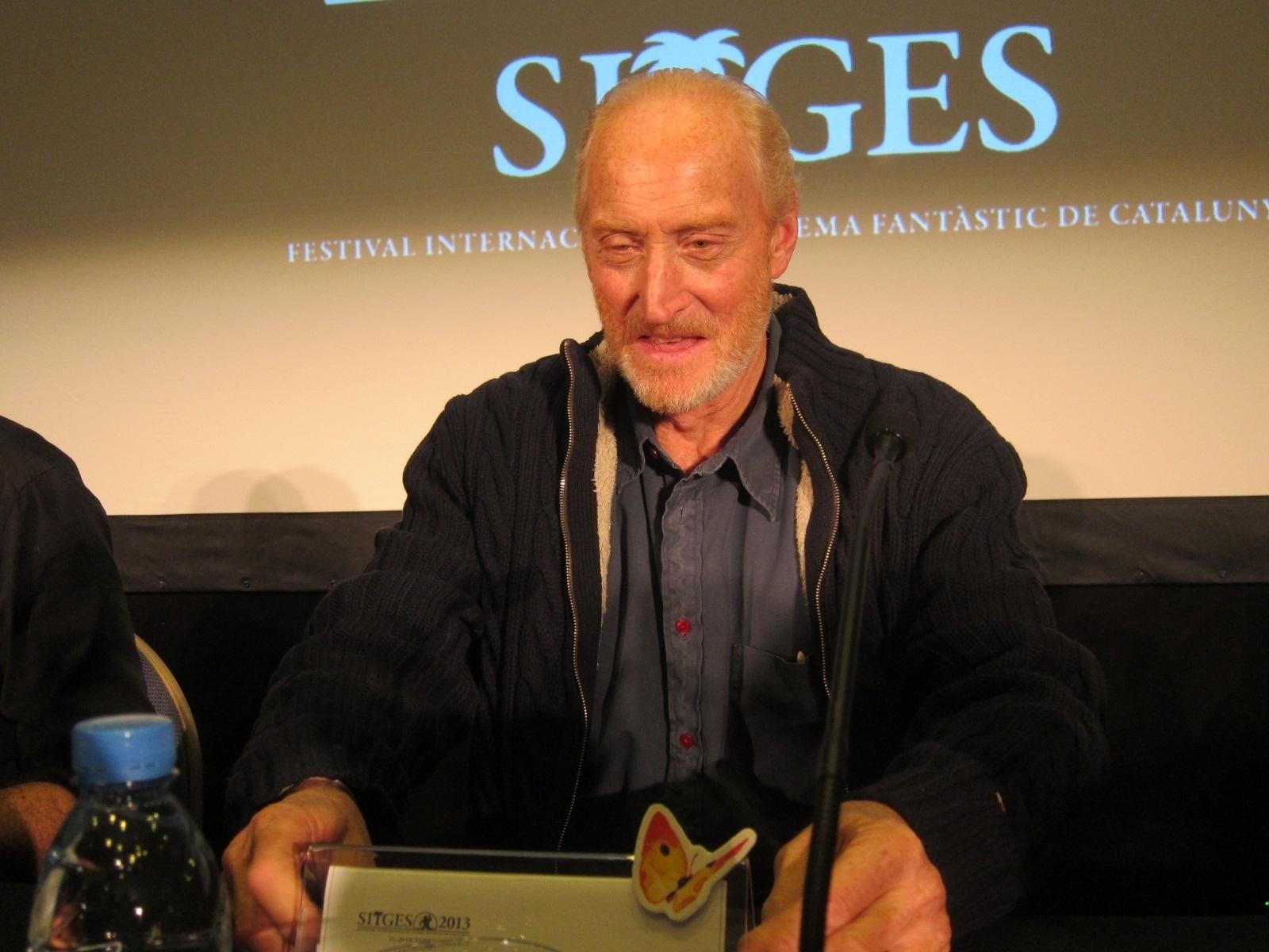 Charles Dance revoluciona Sitges con la presentación de un capítulo de 'Juego de Tronos'