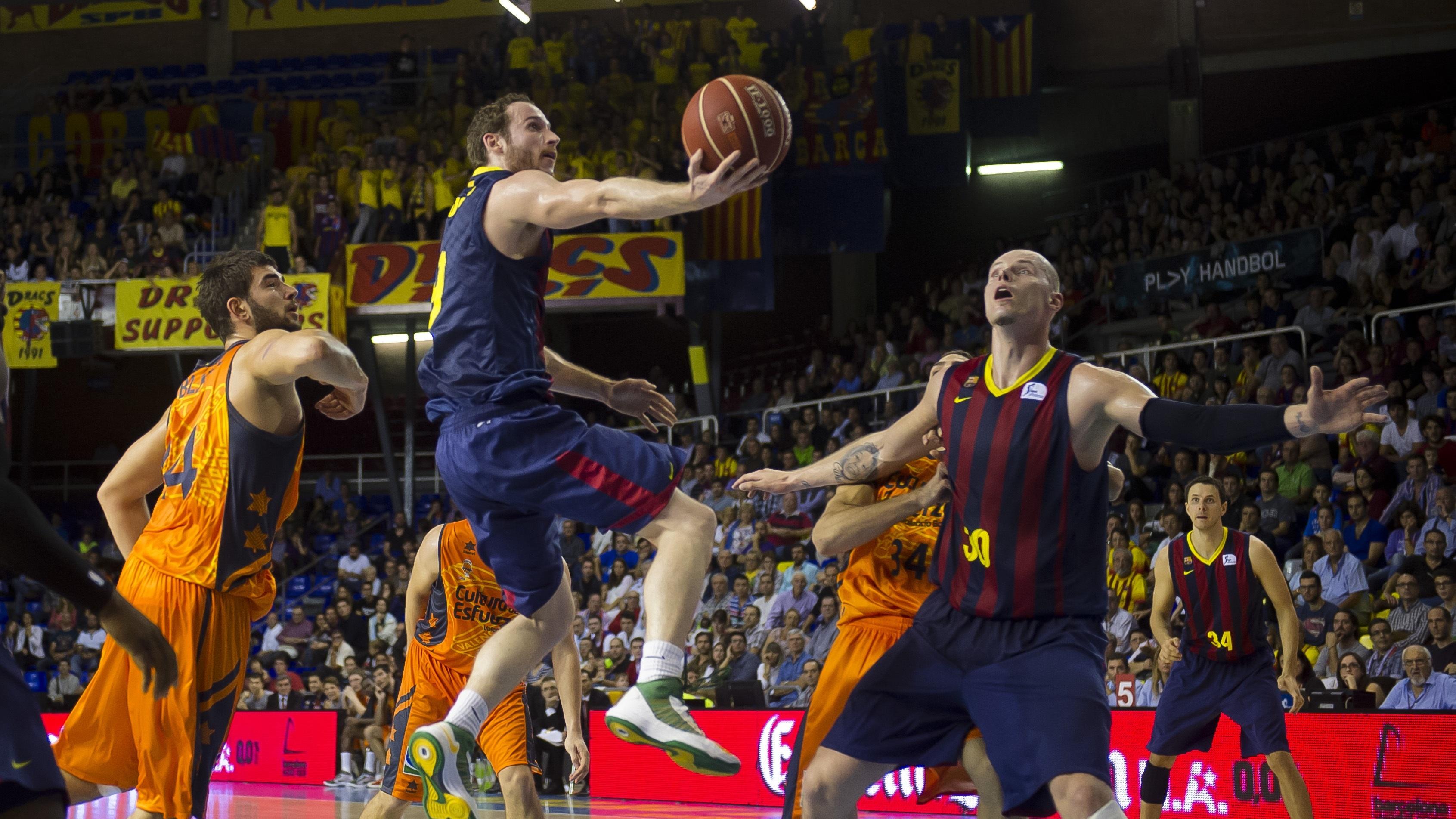 Crónica del FC Barcelona – Valencia Basket, 76-75
