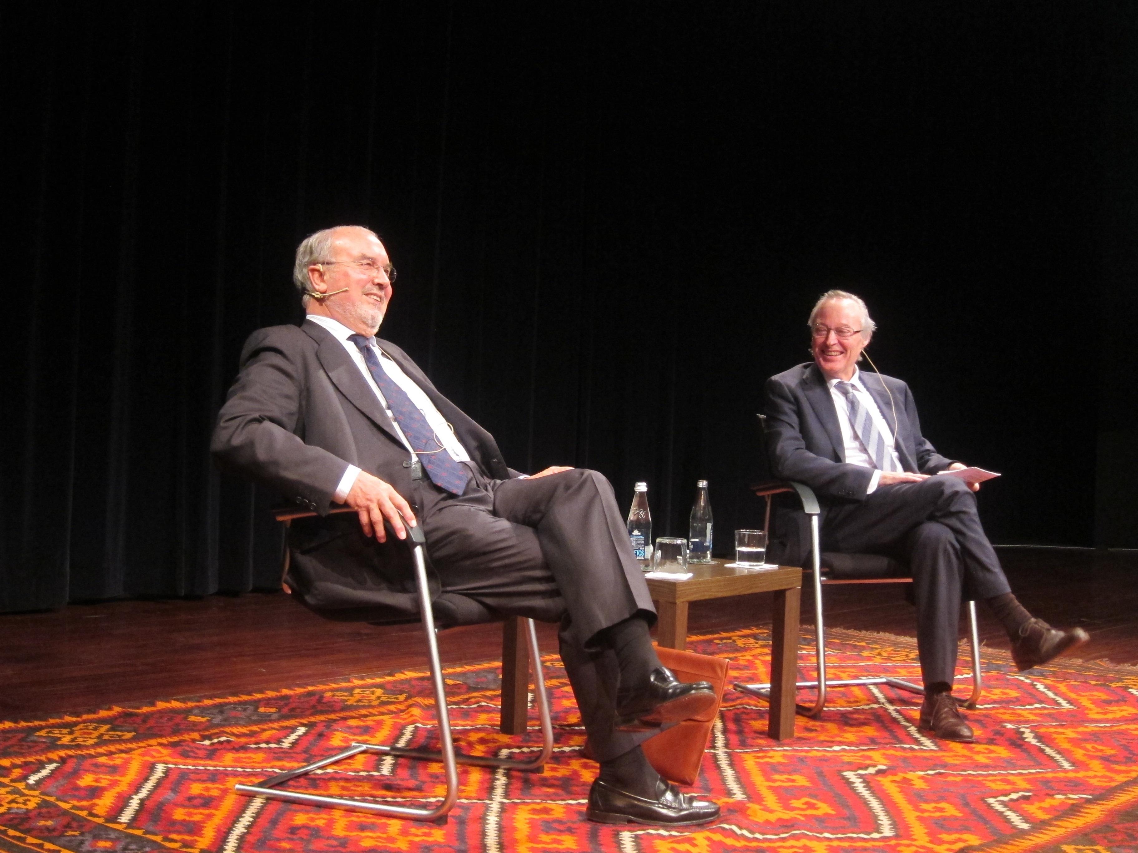 Los exministros Piqué y Solbes creen que las elecciones europeas reflejarán la desafección ciudadana