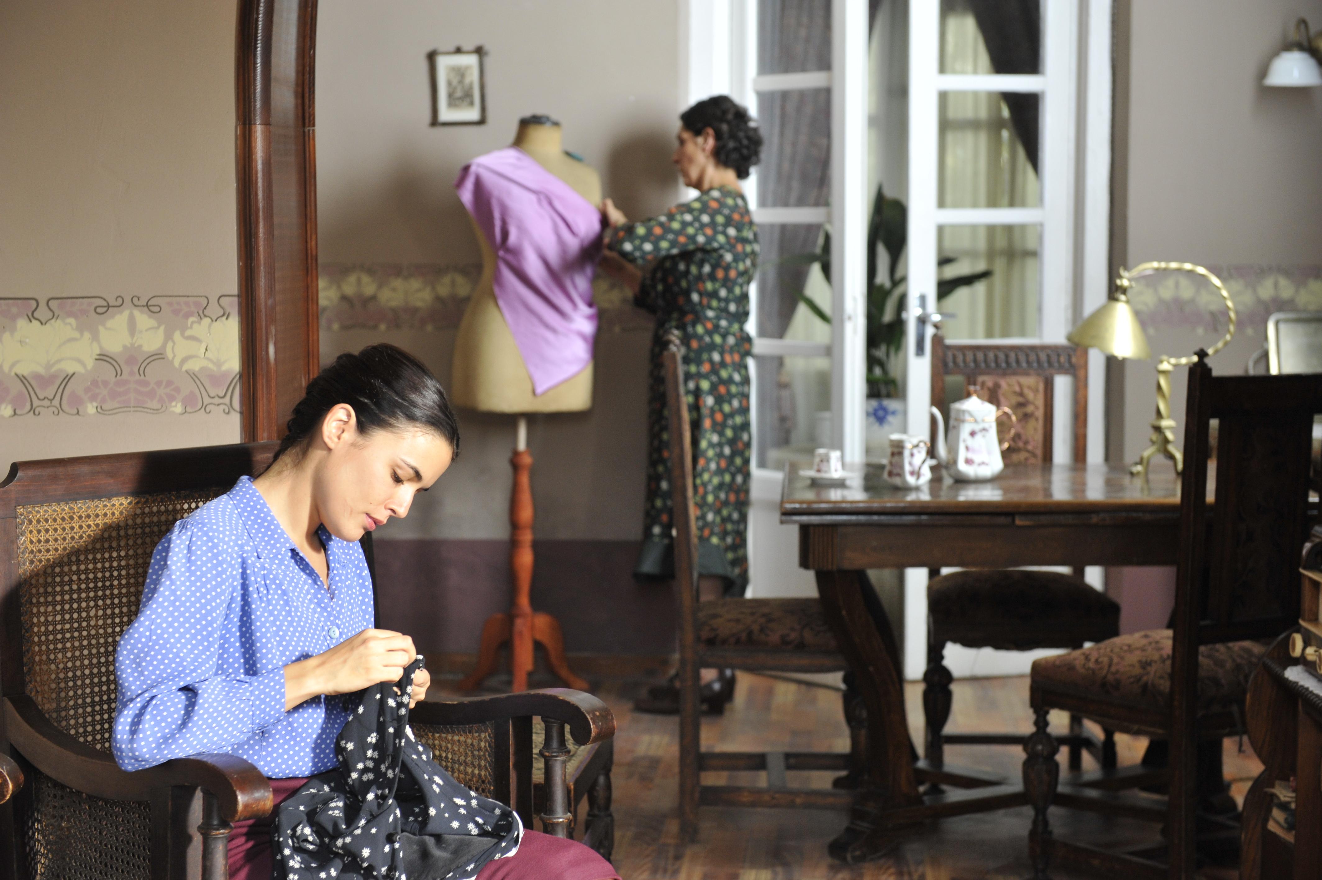 Antena 3 estrena »El tiempo entre costuras» el próximo lunes