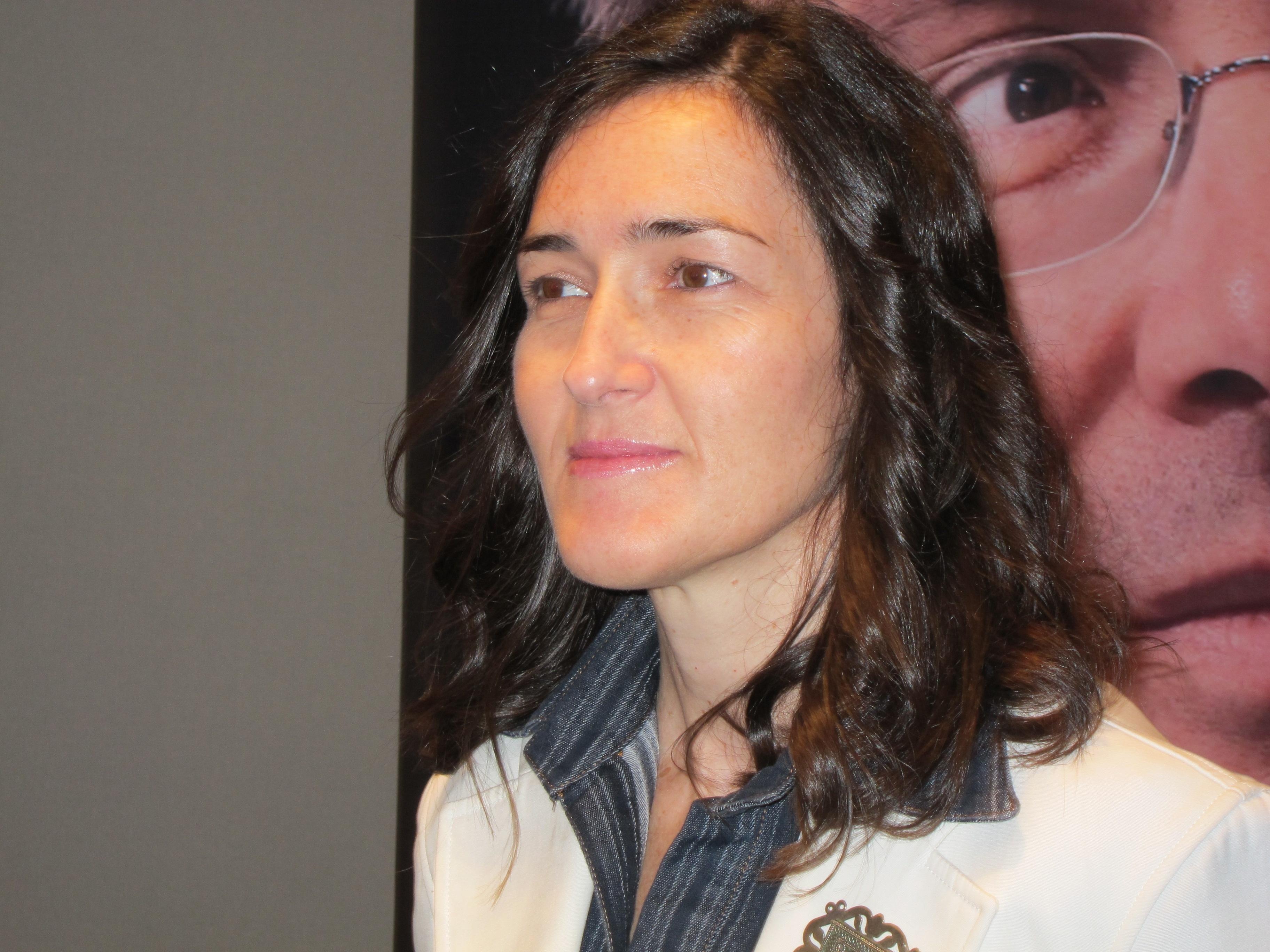 Ángeles González-Sinde, finalista del Premio Planeta 2013