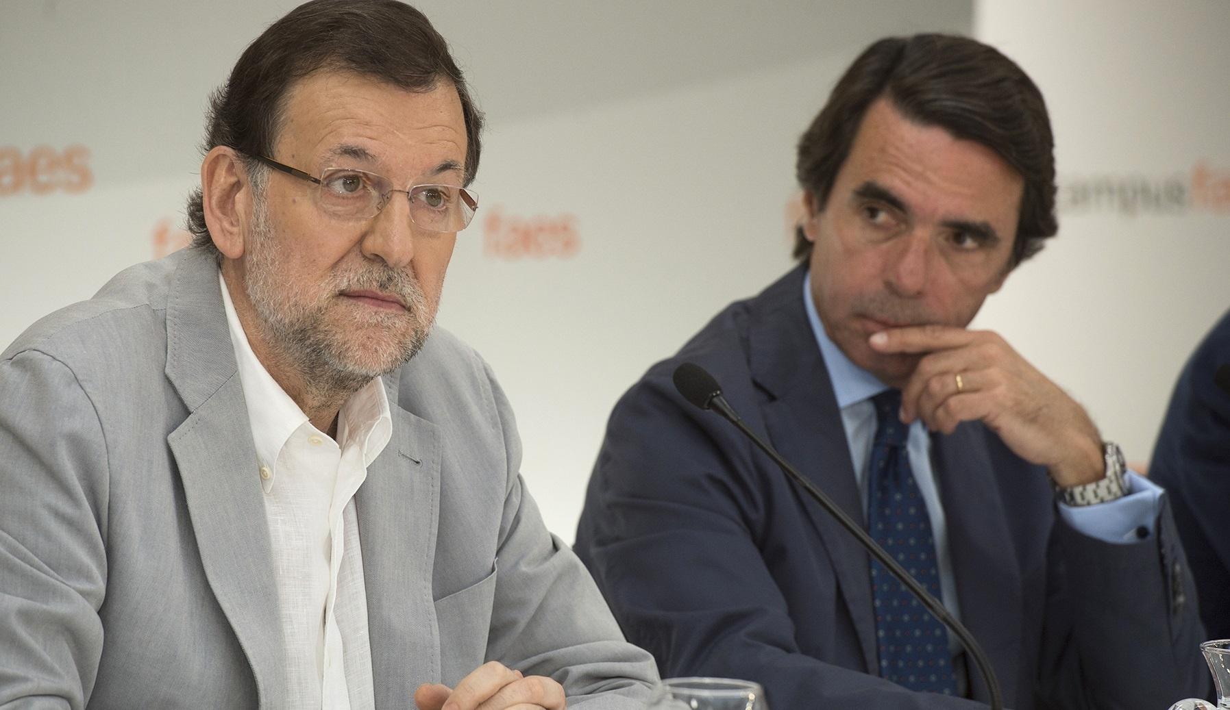 Aznar habla de un nacionalismo catalán destructivo