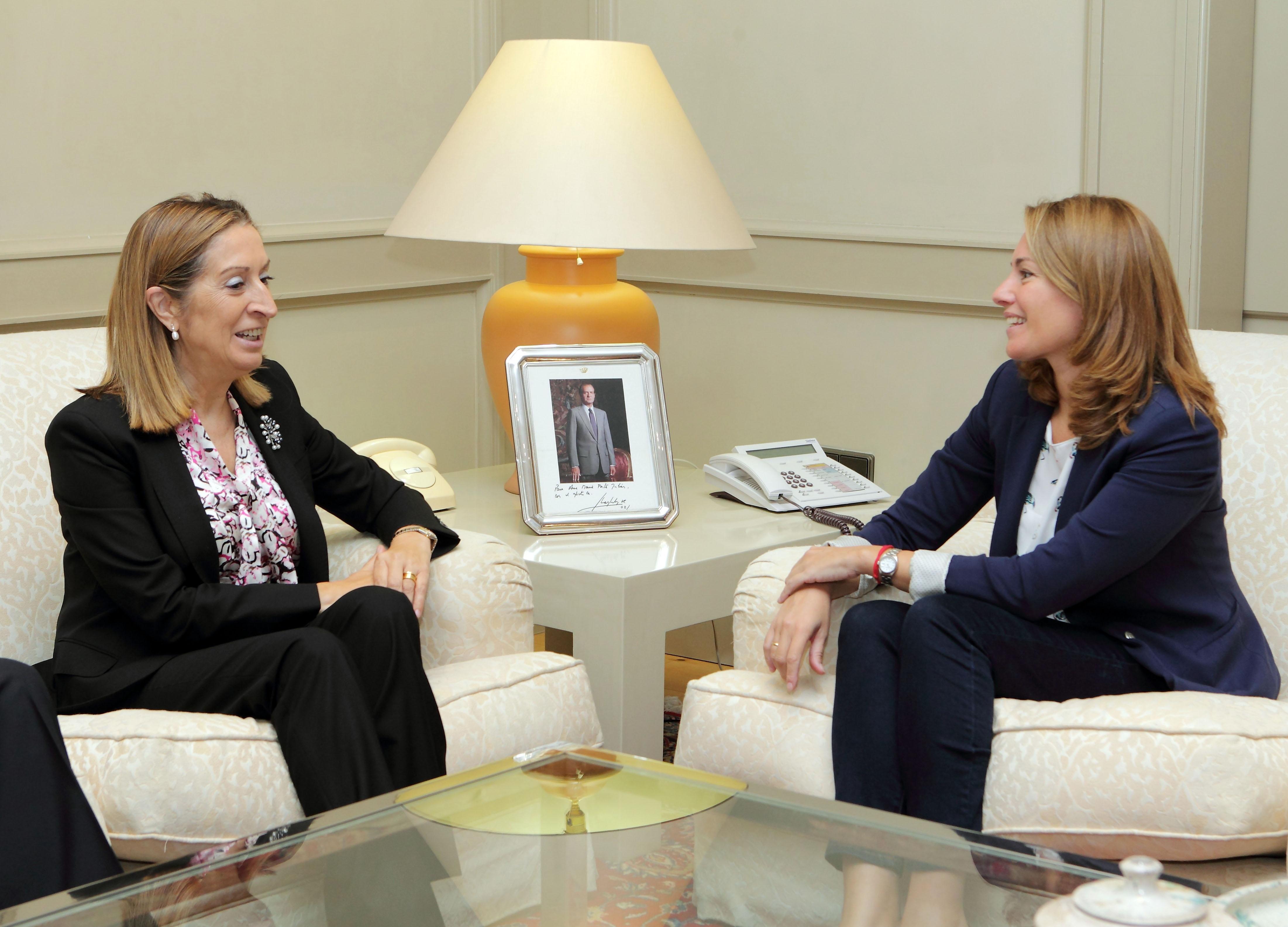 Quiroga (PP) colaborará con el Gobierno en todos los grandes proyectos de infraestructuras planeados para Euskadi
