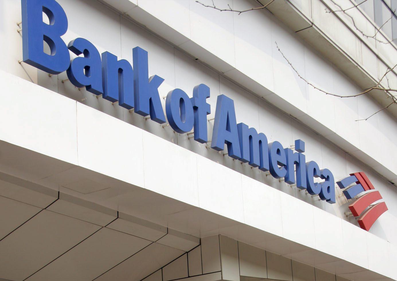 Bank of America gana 7.990 millones hasta septiembre, un 131 por ciento más