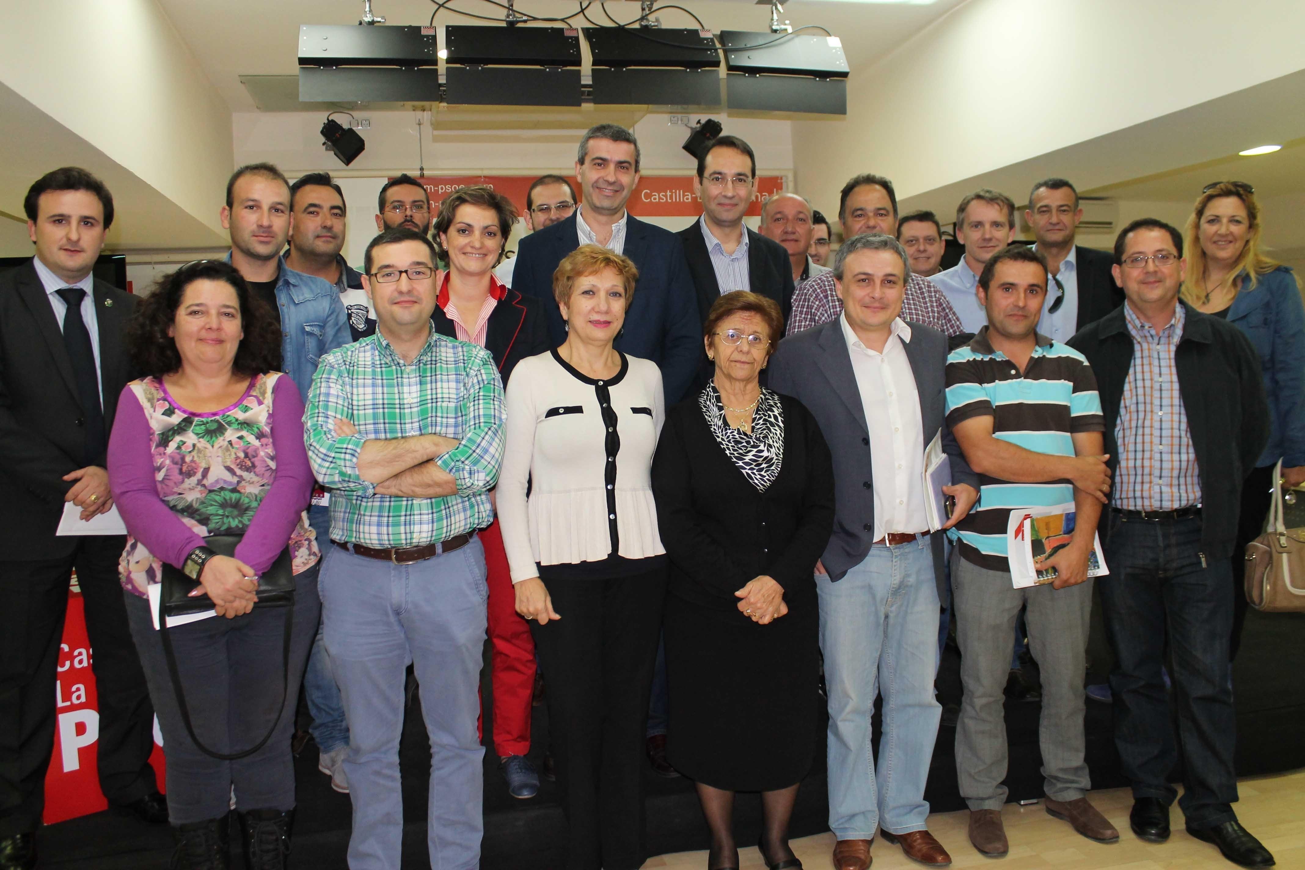 Los alcaldes socialistas de la provincia de Toledo pedirán a la FEMP CLM la convocatoria de Asamblea General de Alcaldes