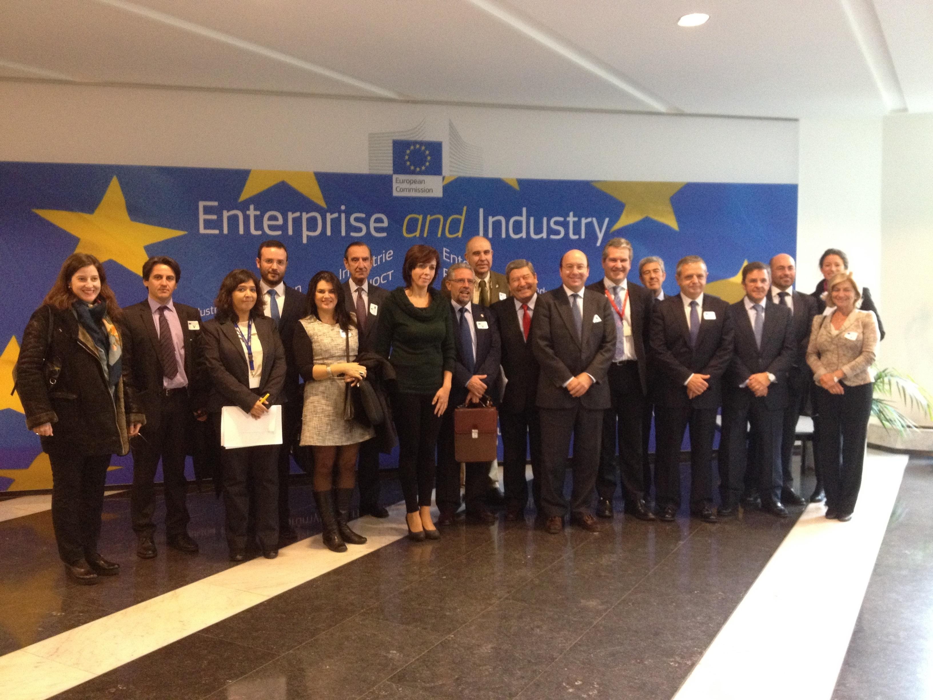 La Fundación Agrópolis presenta su proyecto en Bruselas