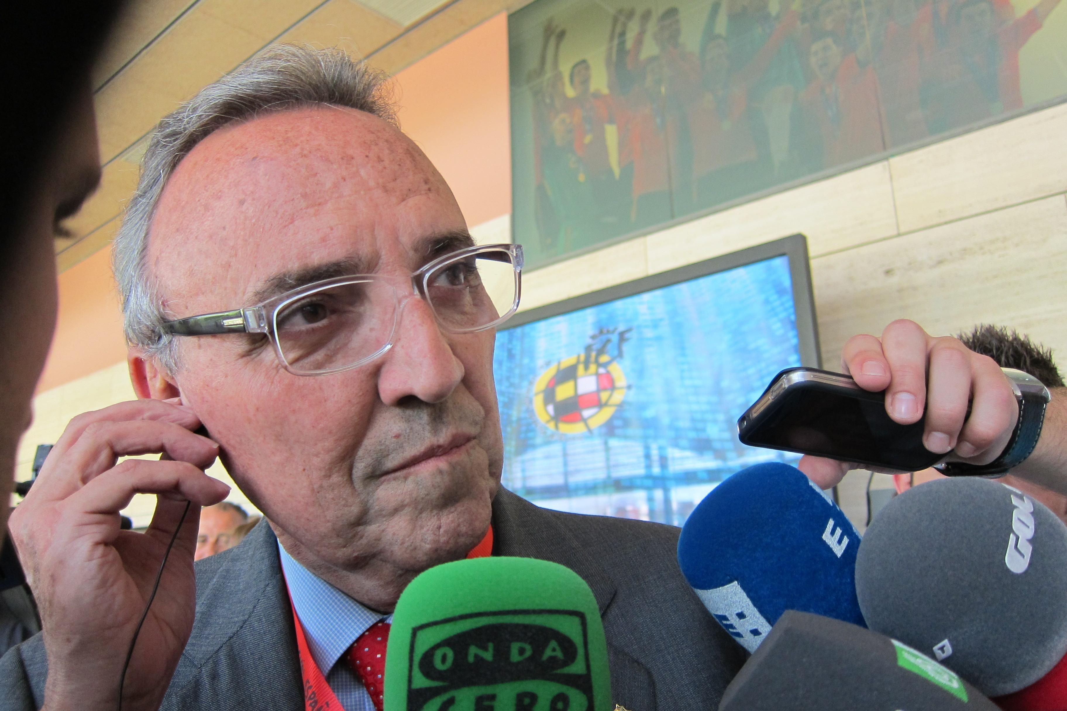 Joan Gaspart: «El Barça es muy familiar, no nos podemos cargar esto»
