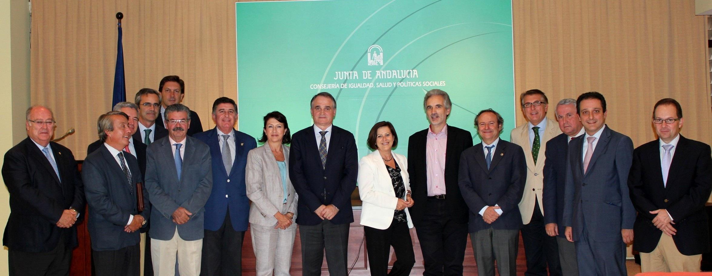 Junta y Consejo Andaluz de Farmacéuticos colaborarán para ofrecer una prestación farmacéutica de calidad