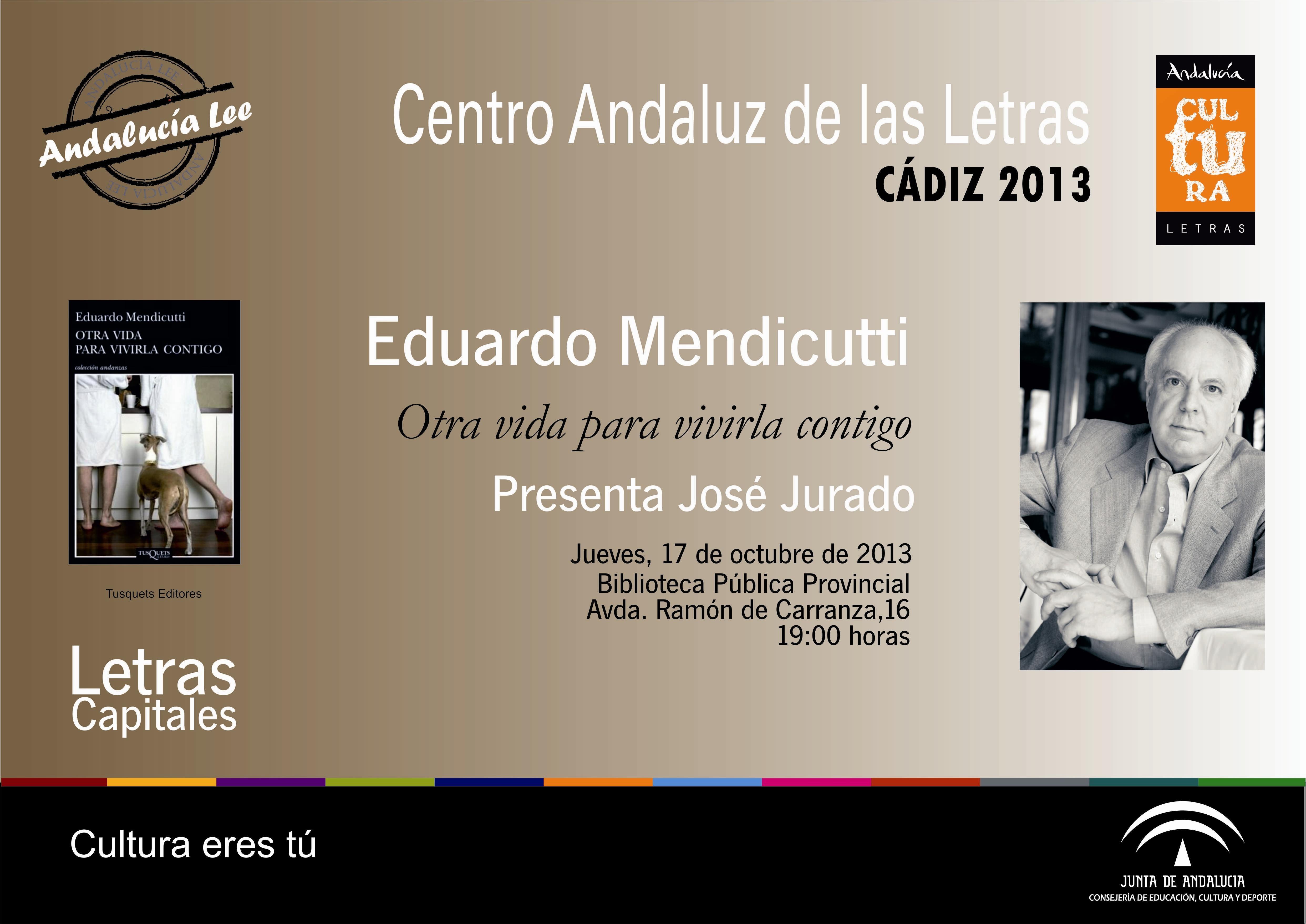 José María Guelbenzu presenta la novela »Mentiras aceptadas» dentro del programa Letras Capitales