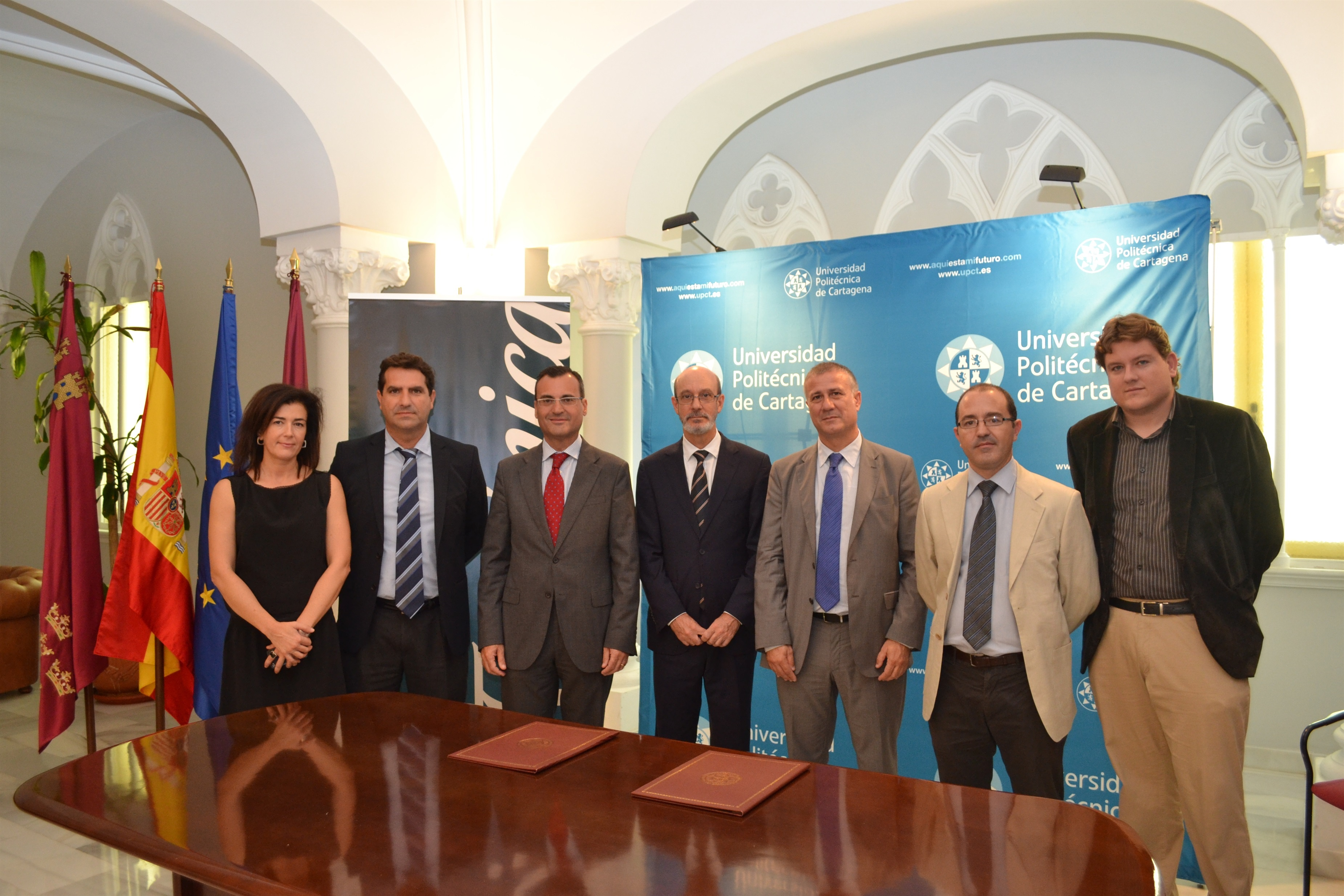 UPCT y Telefónica crean una Cátedra de Empresas para fomentar el emprendimiento social y tecnológico