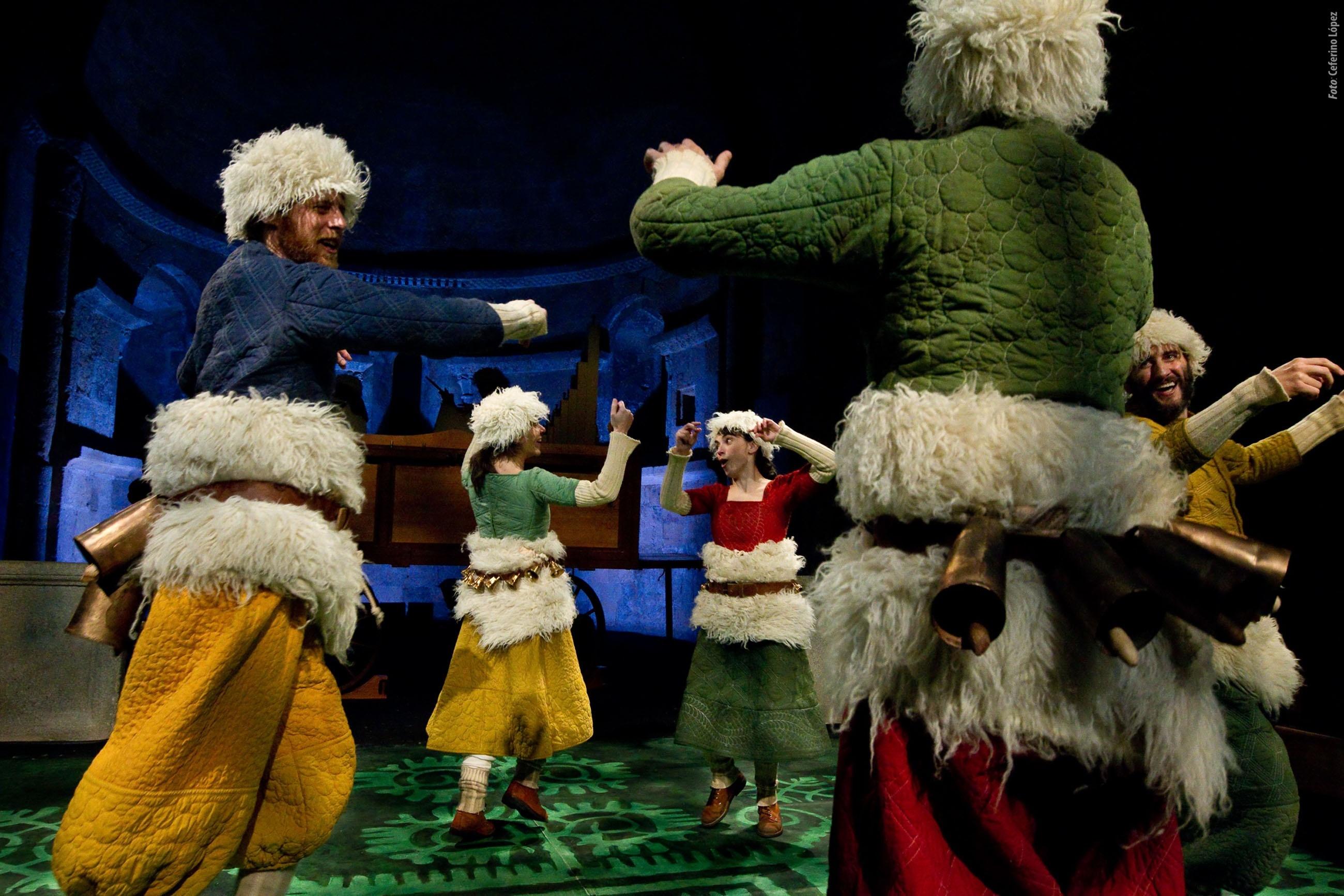 Amor, alegría, música y verso, este viernes en el Bretón con el teatro renacentista de »Farsas y églogas»