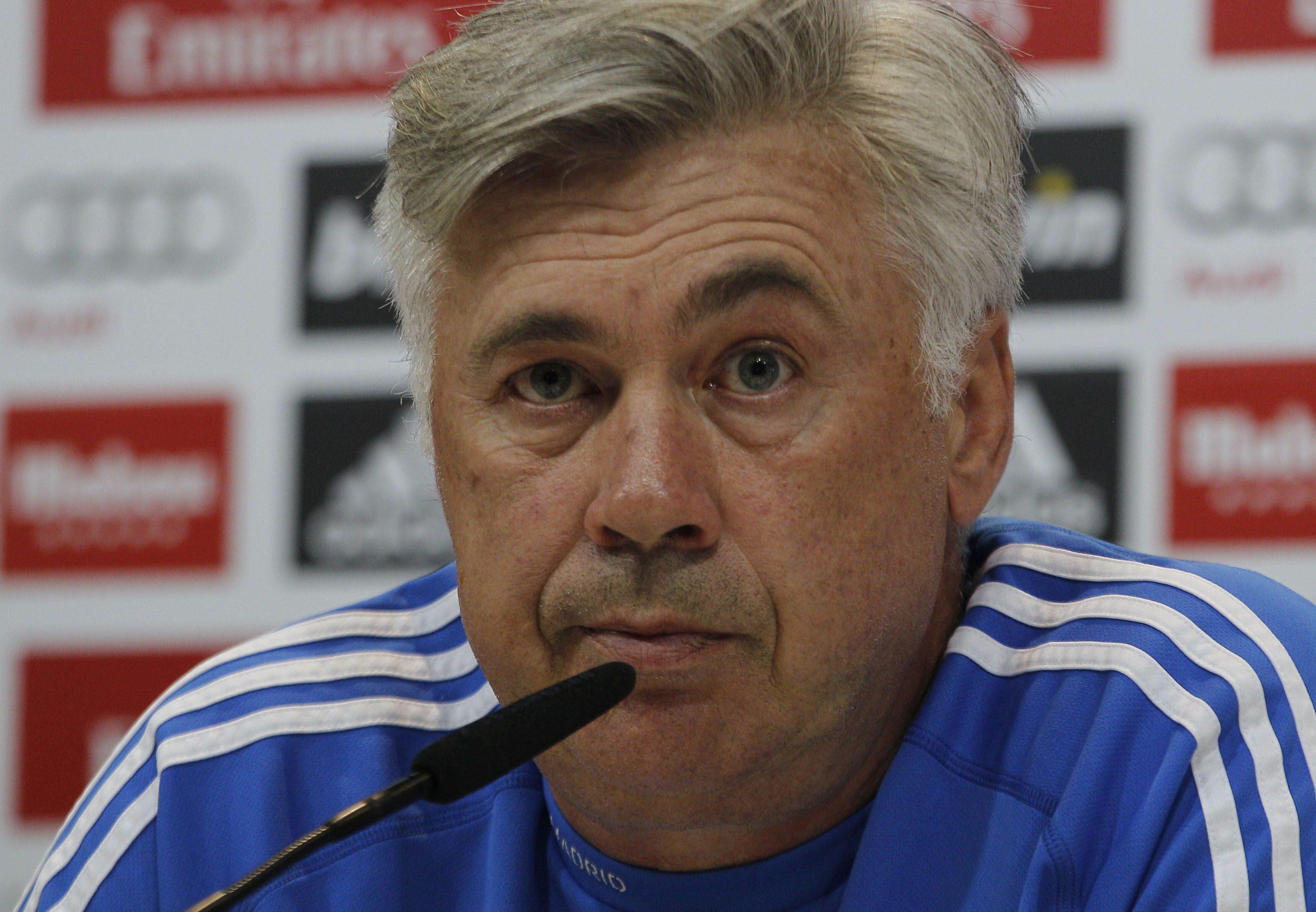 Ancelotti: «Mejoraremos porque no se puede jugar peor»
