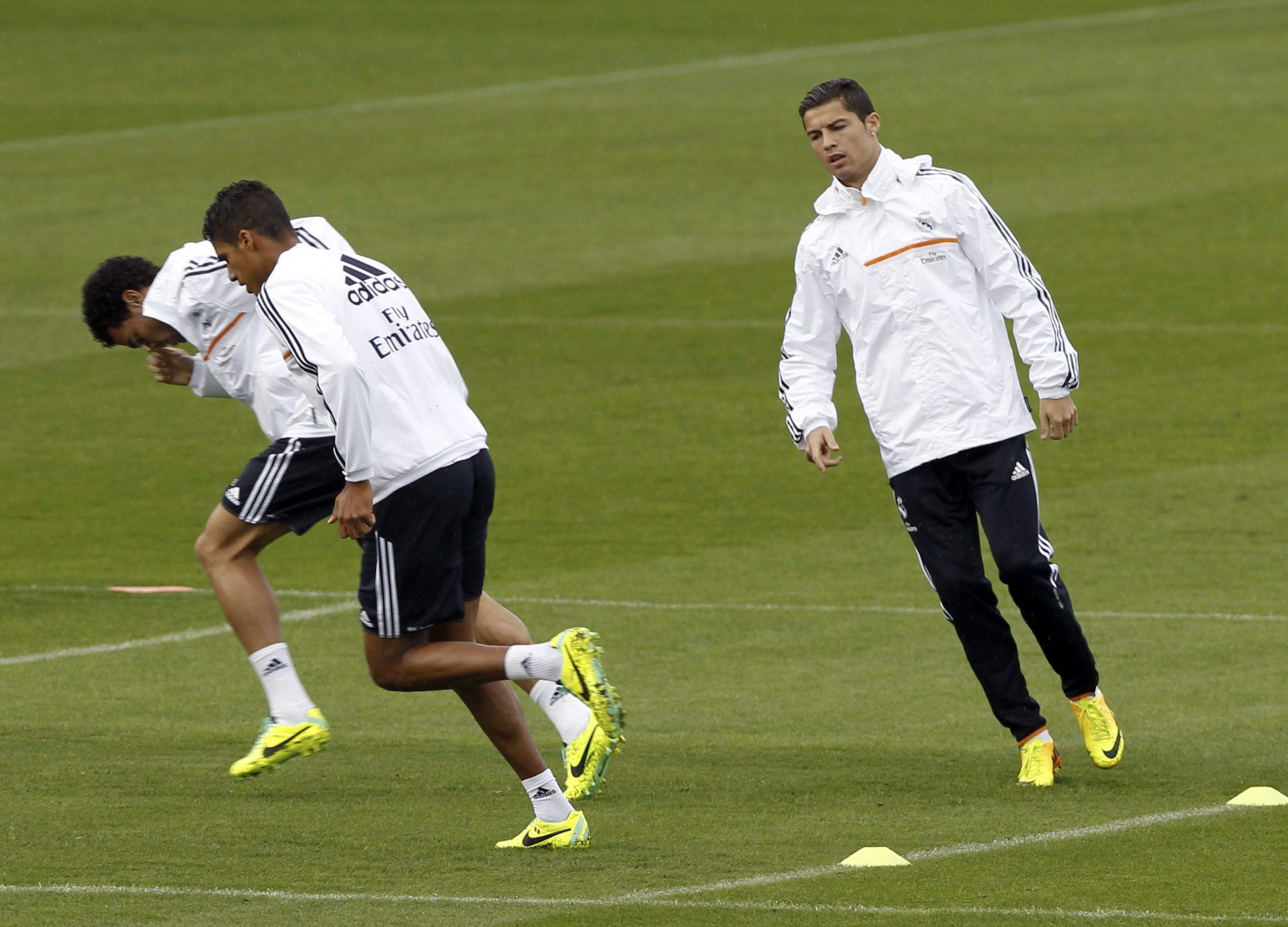 Bale se reincorpora al grupo para preparar el choque frente al Málaga
