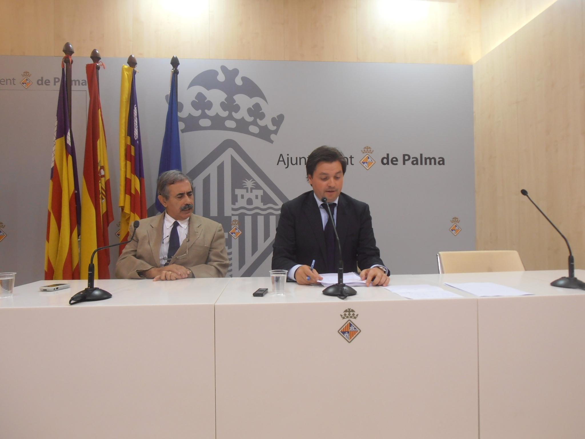 El Ayuntamiento de Palma abre al público este jueves la zona transitable del Baluard del Príncep