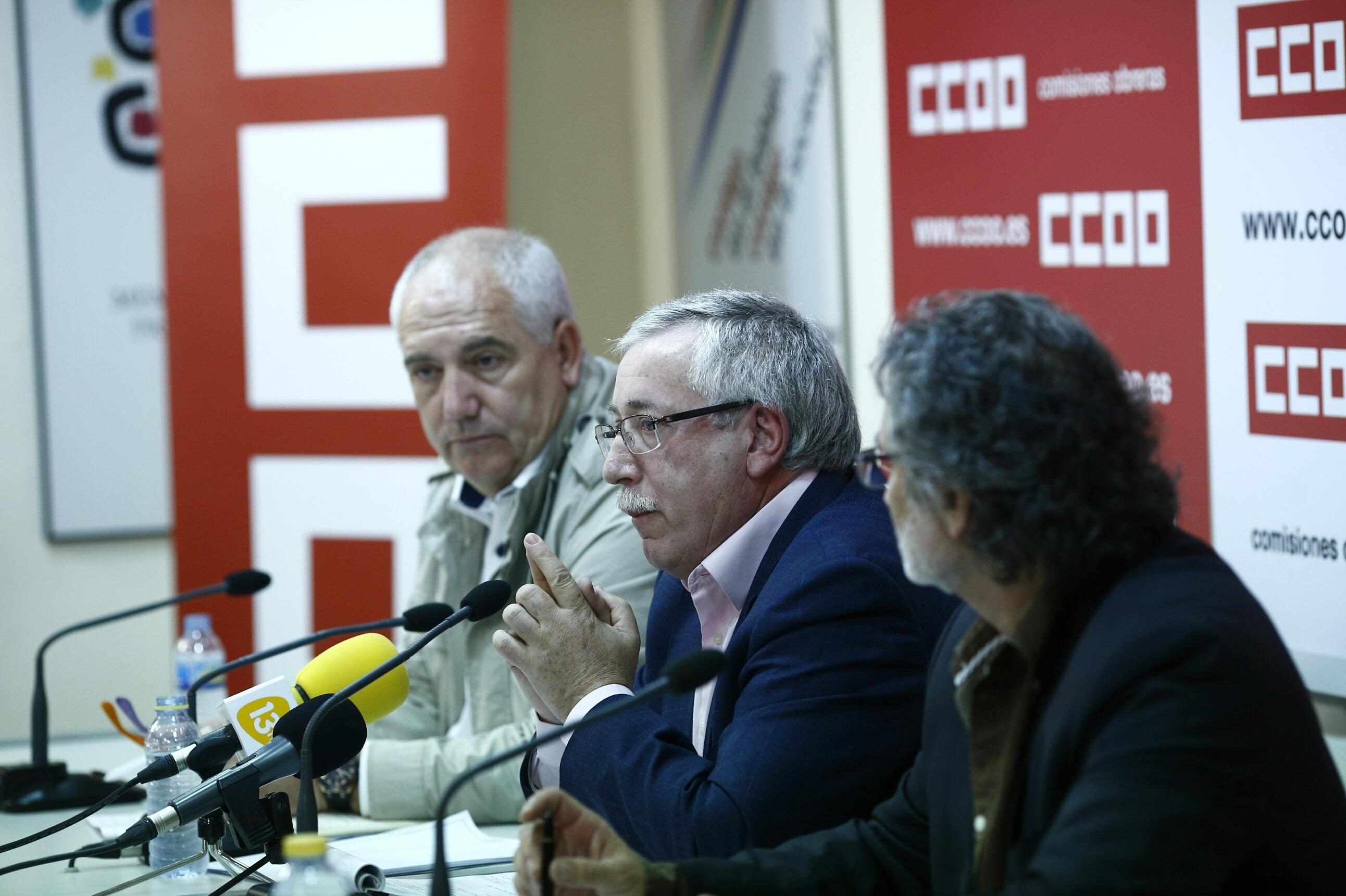 CCOO admite una facturación «manifiestamente mejorable» pero niega estar en los ERE