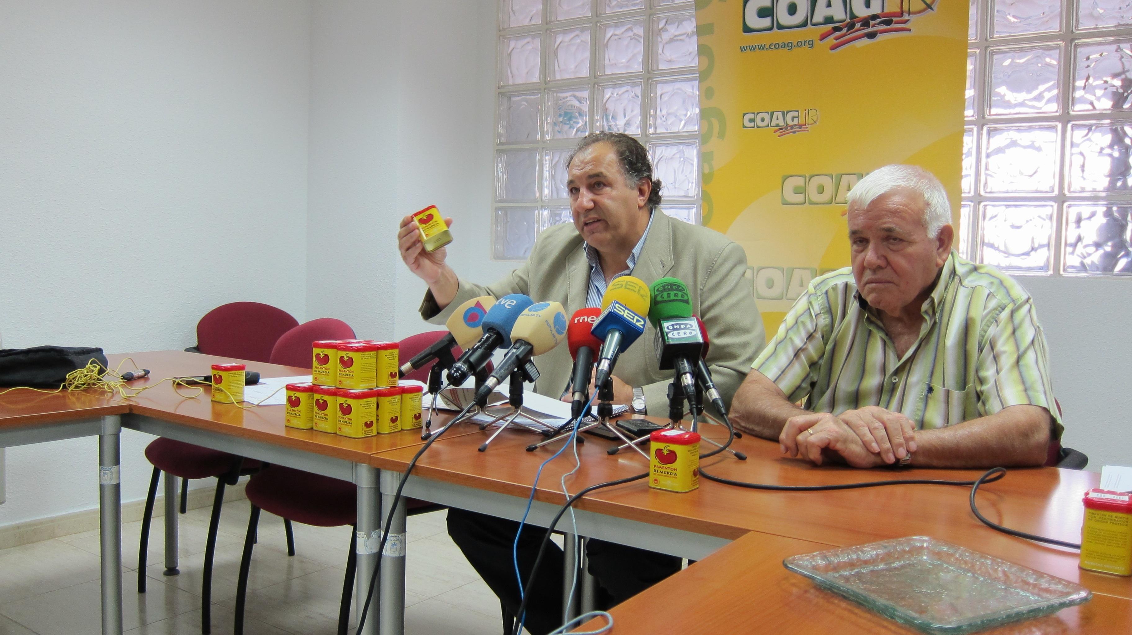 COAG asegura que al sector del pimentón «le quedan cuatro siestas» si las «administraciones no ponen medidas»