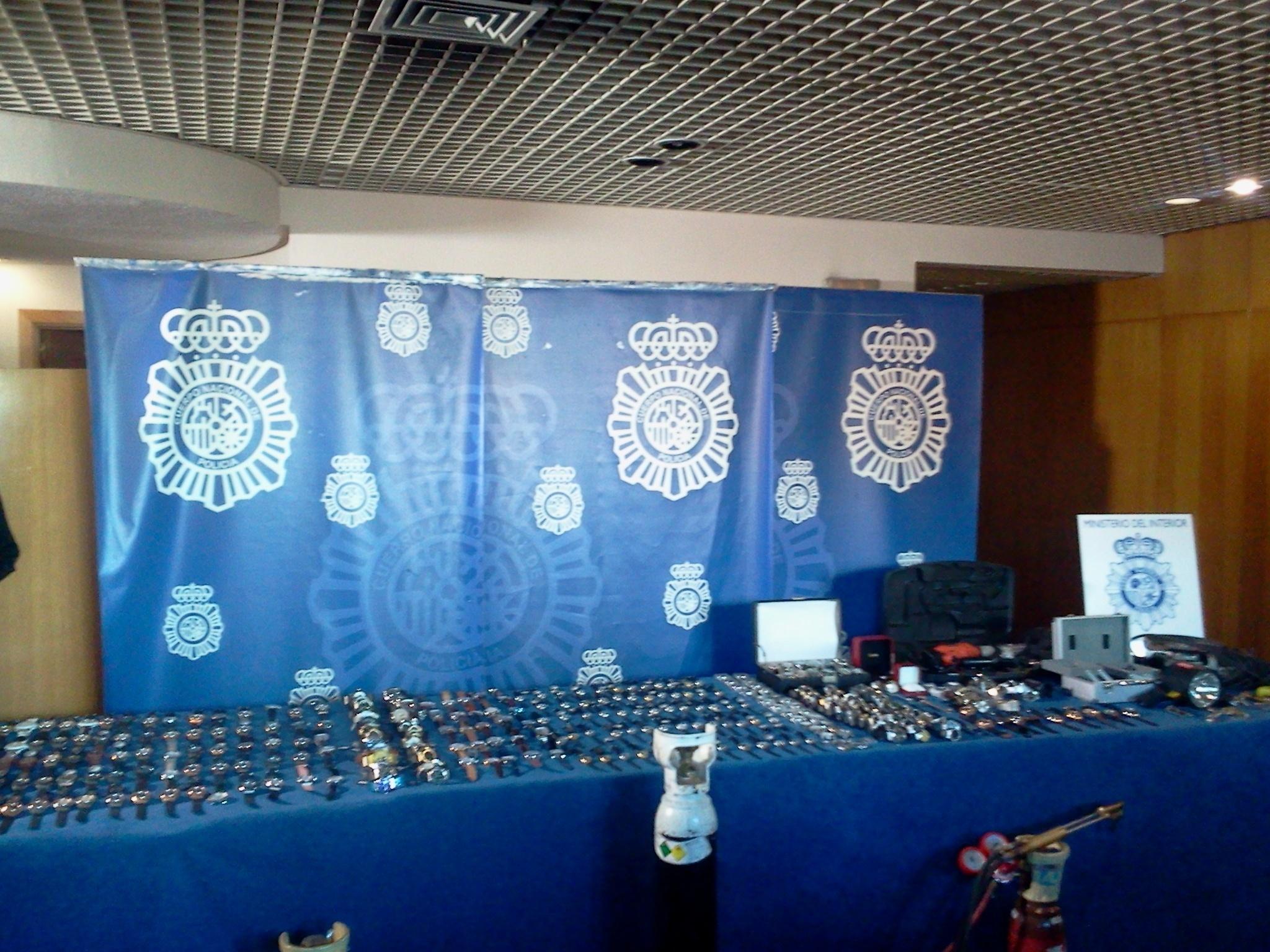 Diecisiete detenidos por uno de los mayores robos de joyas la Historia, con un botín de 23 millones de €