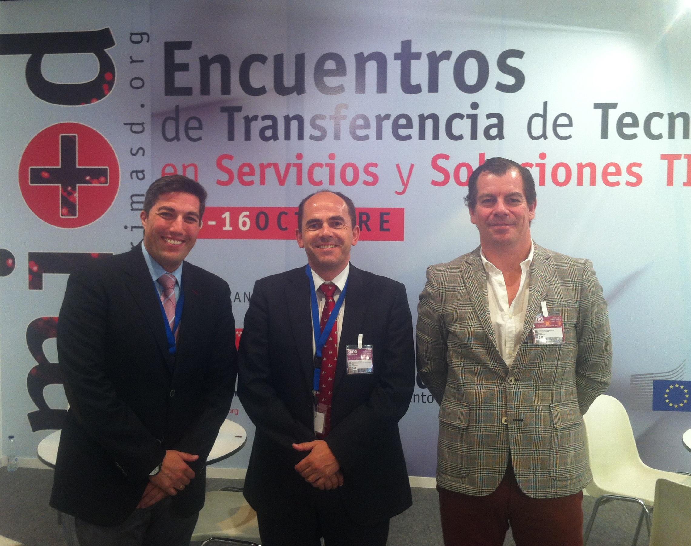 Geolit se reúne en SIMO 2013 con empresas tecnológicas nacionales y latinoamericanas