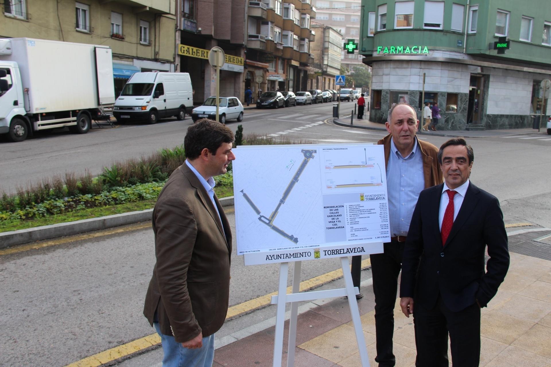 El tráfico entre Julián Ceballos, Garcilaso de la Vega y Augusto G. Linares se reordenará con un rotonda
