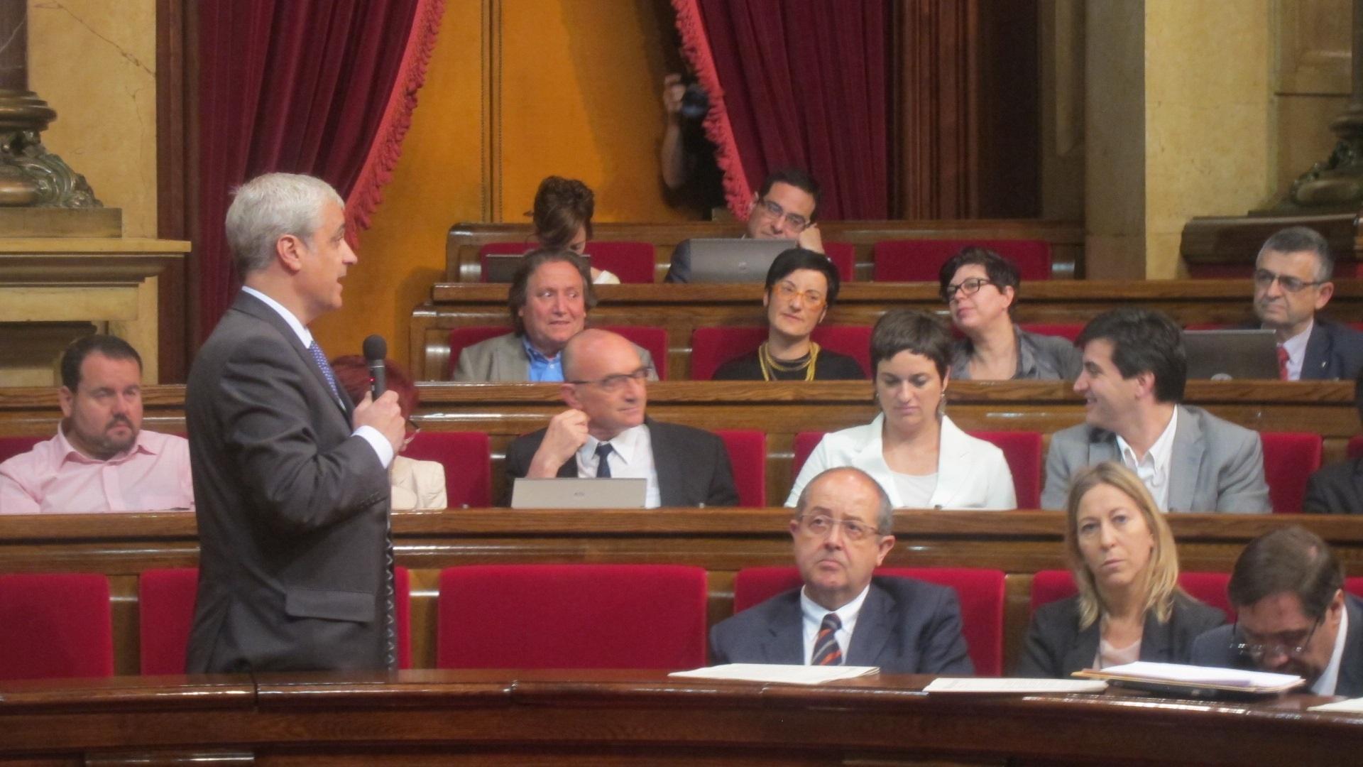 El conseller catalán de Justicia dice al juez del TSJC que nunca habló con Oriol Pujol de la gestión del mapa de ITV