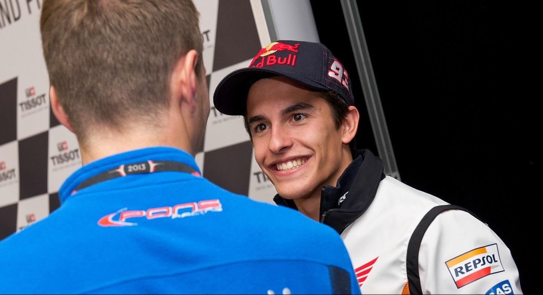 Márquez: «Será muy difícil porque Lorenzo fue muy rápido aquí»