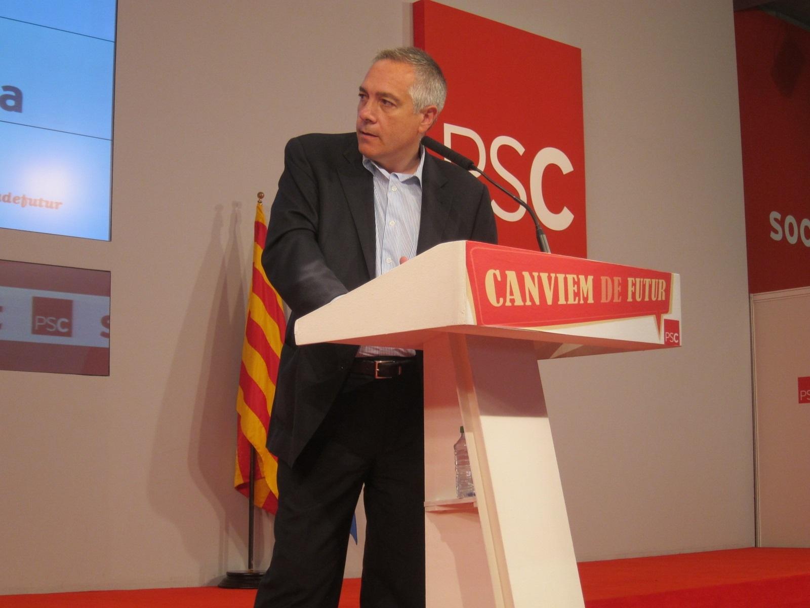Navarro está «tranquilísimo» con el libro sobre Método 3 e insiste en desvincular al PSC