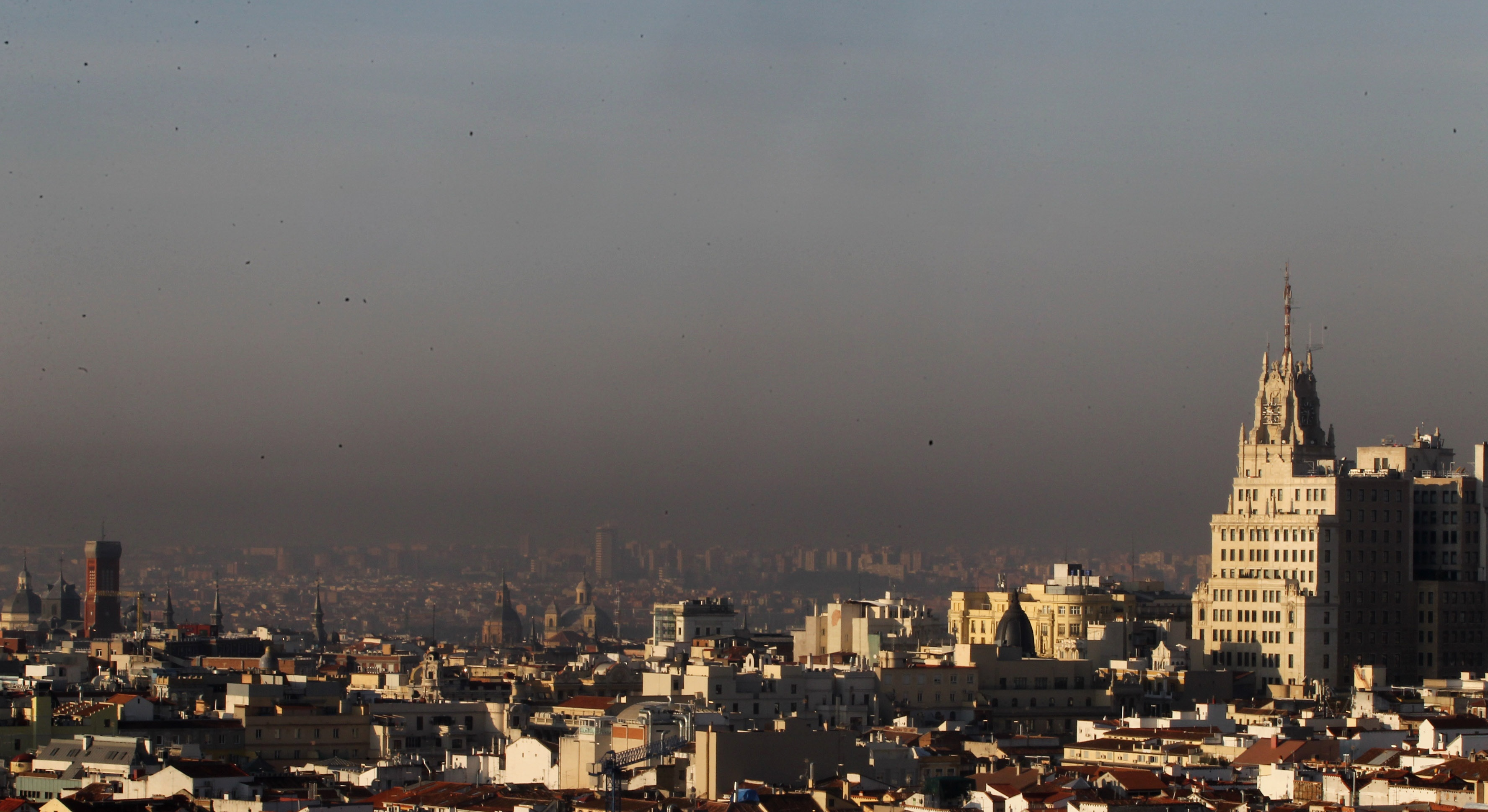 La OMS califica la contaminación atmosférica como una de las principales causas de cáncer