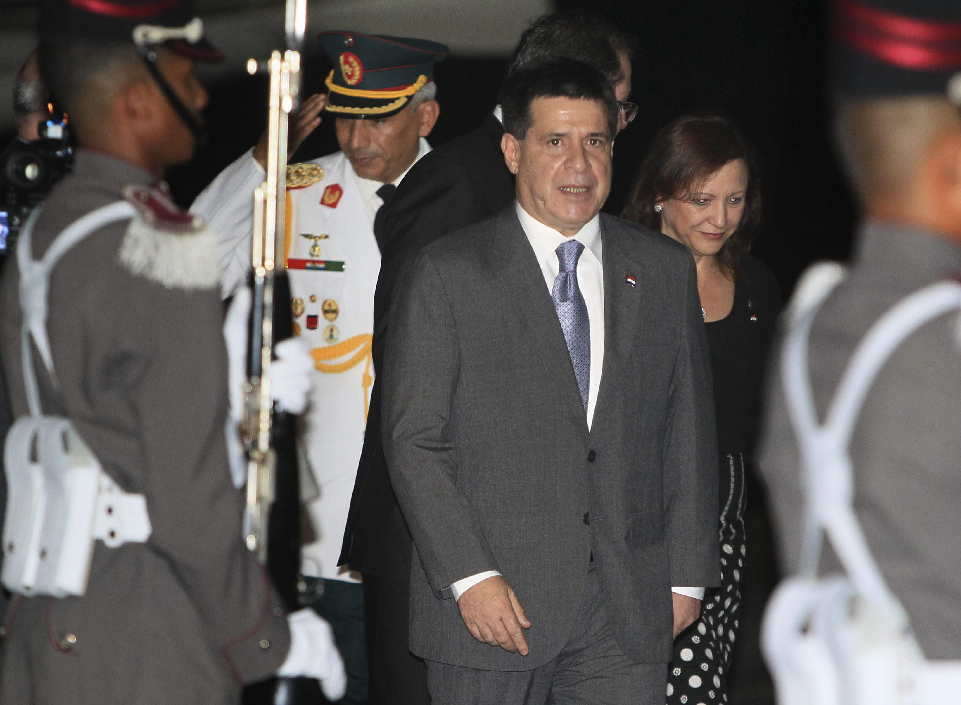 Paraguay pide a la cumbre de Panamá apoyo como país sin litoral marítimo