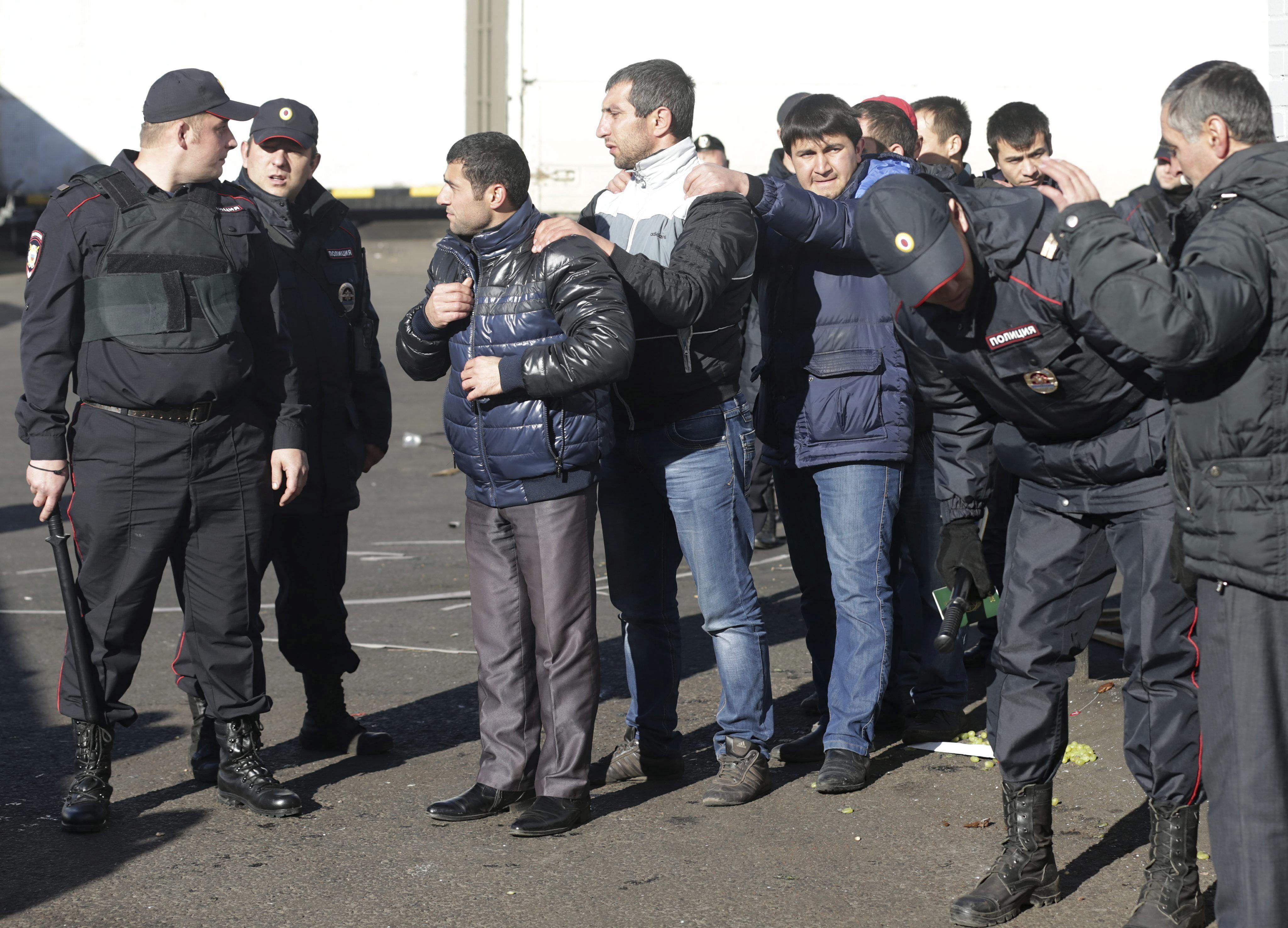 Rusia ha expulsado a casi 40.000 inmigrantes en lo que va de año