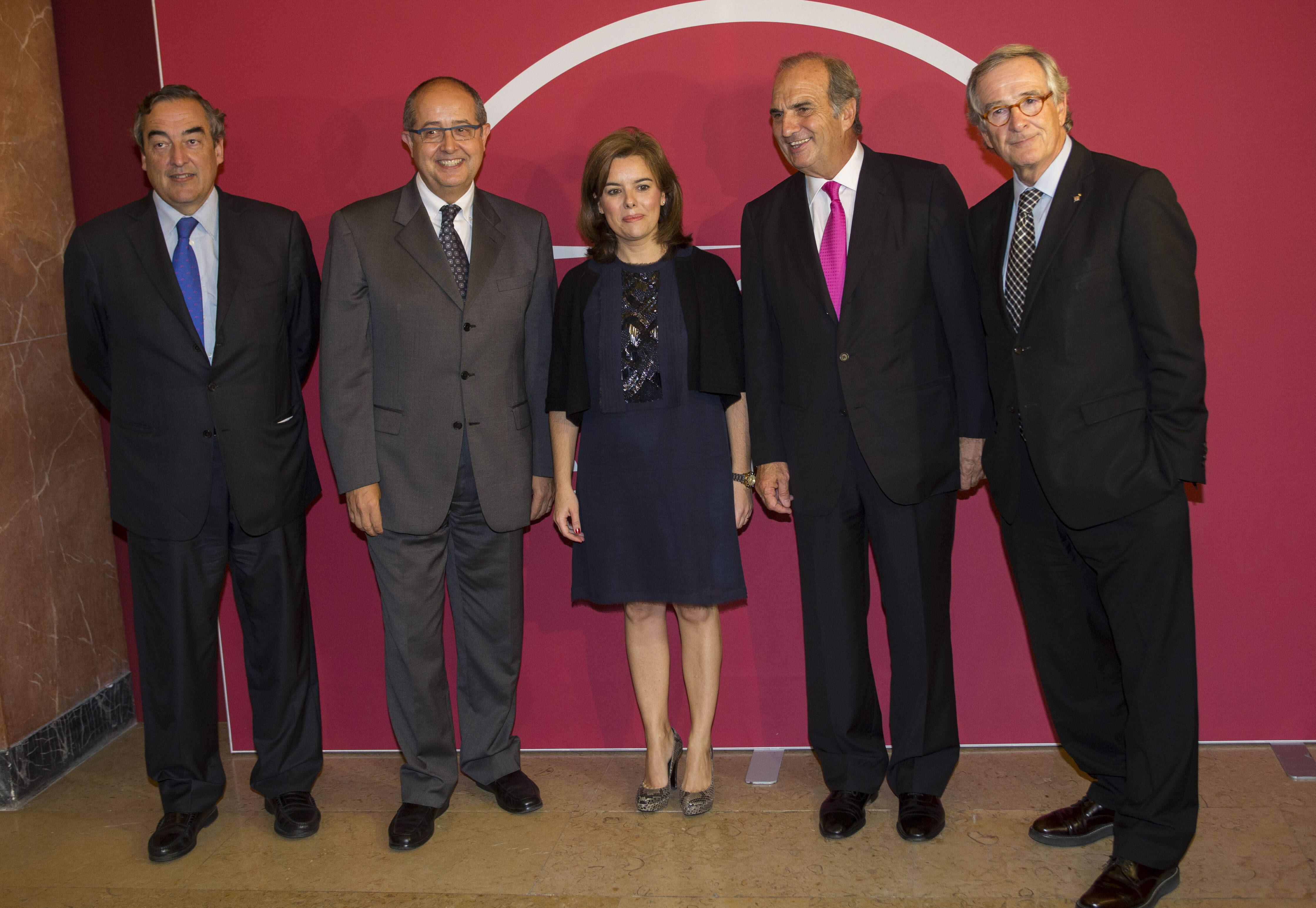 Artur Mas no acude a un acto en Barcelona junto a Sáenz de Santamaría
