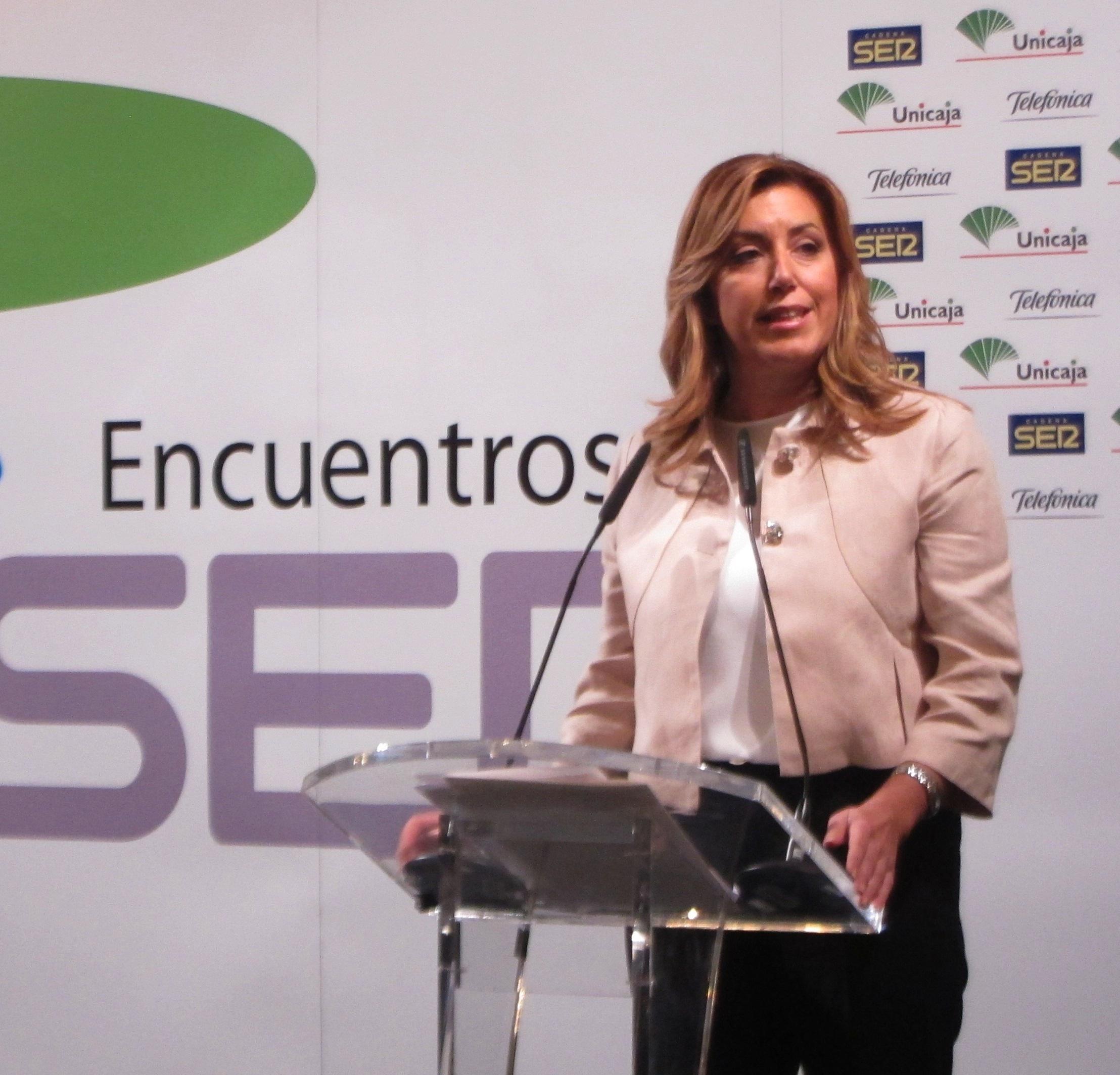 Susana Díaz no descarta recurrir la reforma local ante el TC si no se modifica durante el trámite parlamentario
