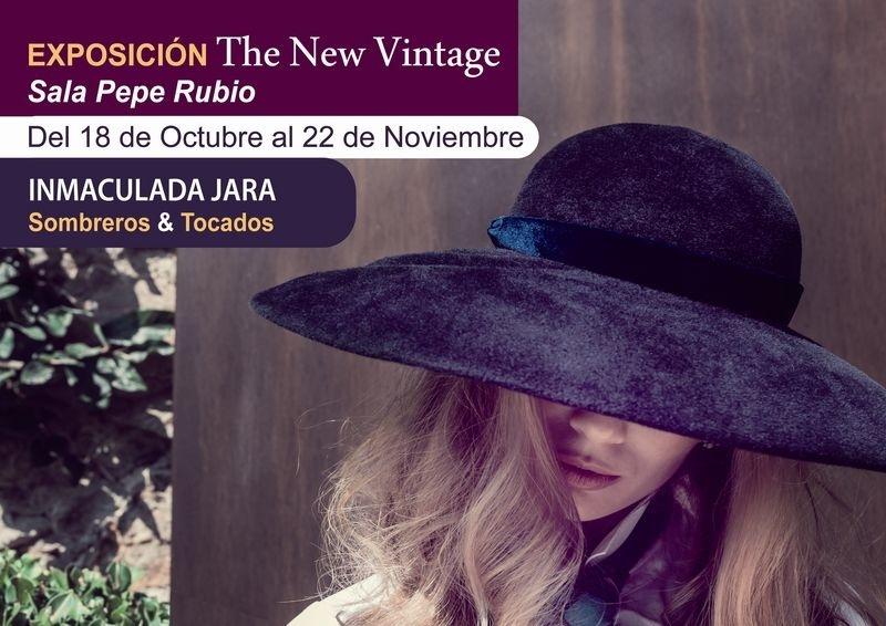 La diseñadora Inmaculada Jara expone desde este viernes en Beniel su muestra »Sombreros y tocados»