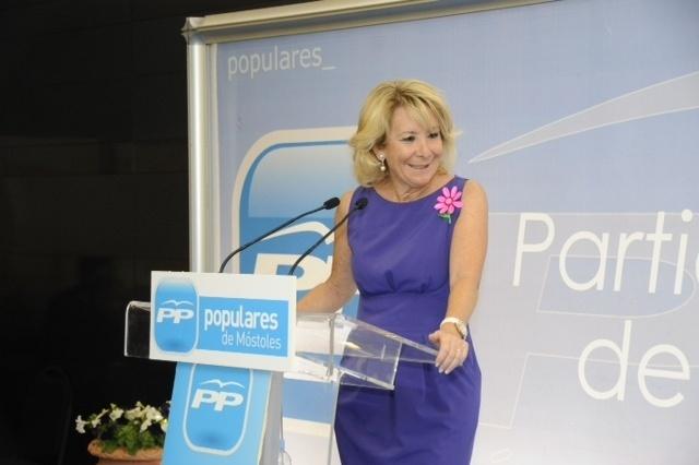 Aguirre entiende que el PP deberá plantearse qué hacer si pierde apoyo de electores por Movimiento Ciudadano o UPyD