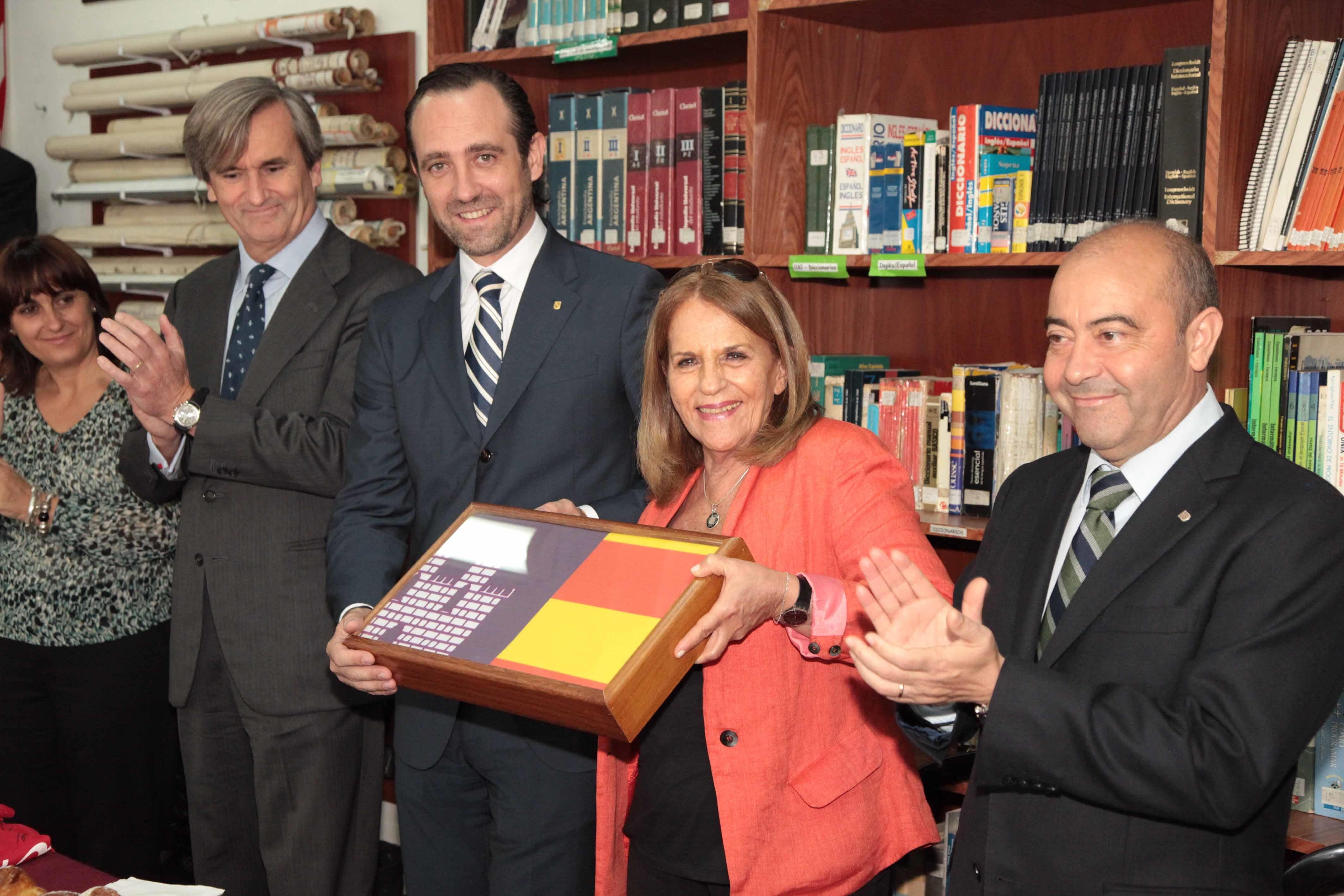 Bauzá conoce el proyecto de coeducación del Instituto Integral de Buenos Aires
