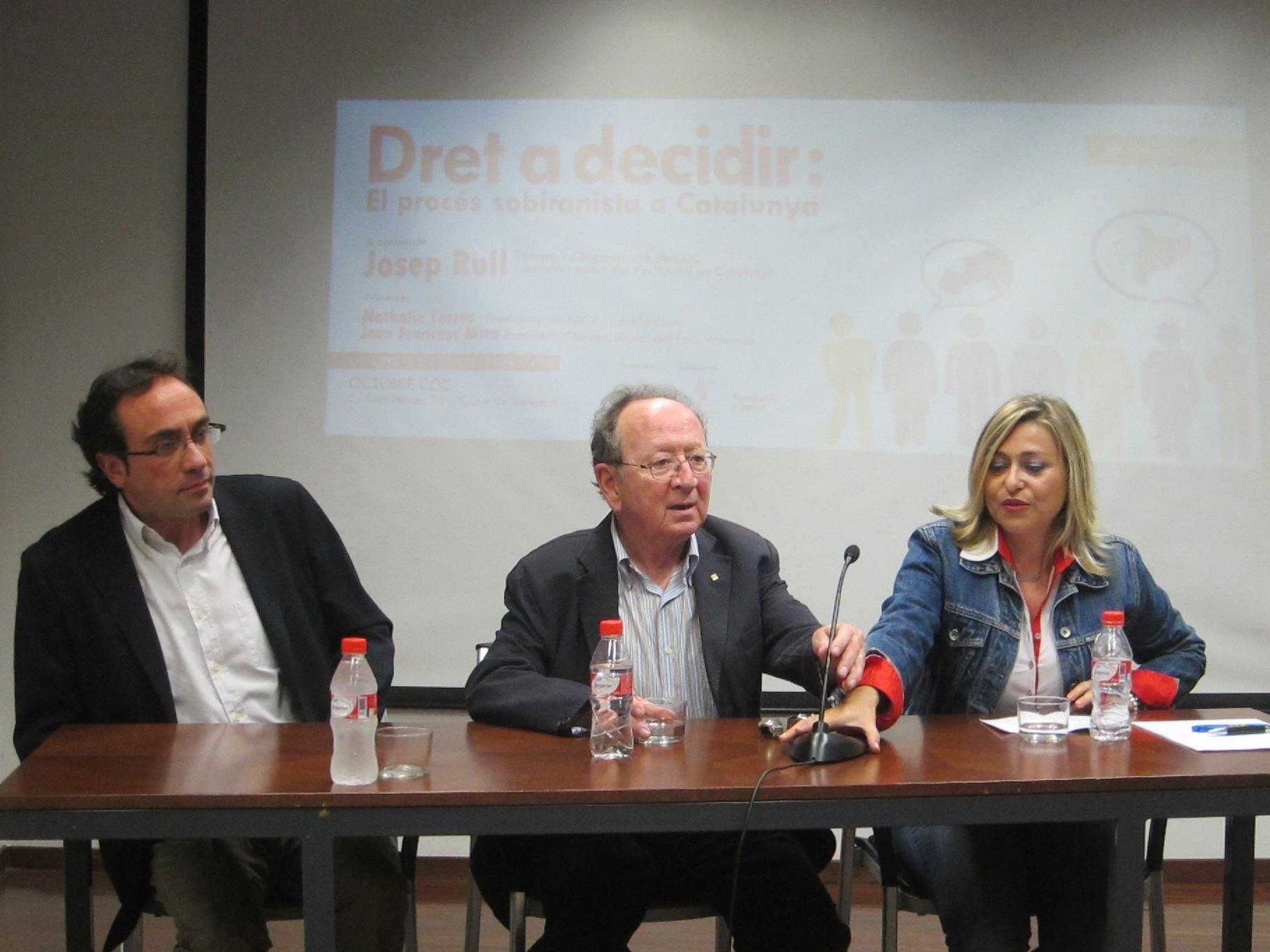 CDC defiende el «derecho y el deber» de Catalunya a decidir sobre su futuro