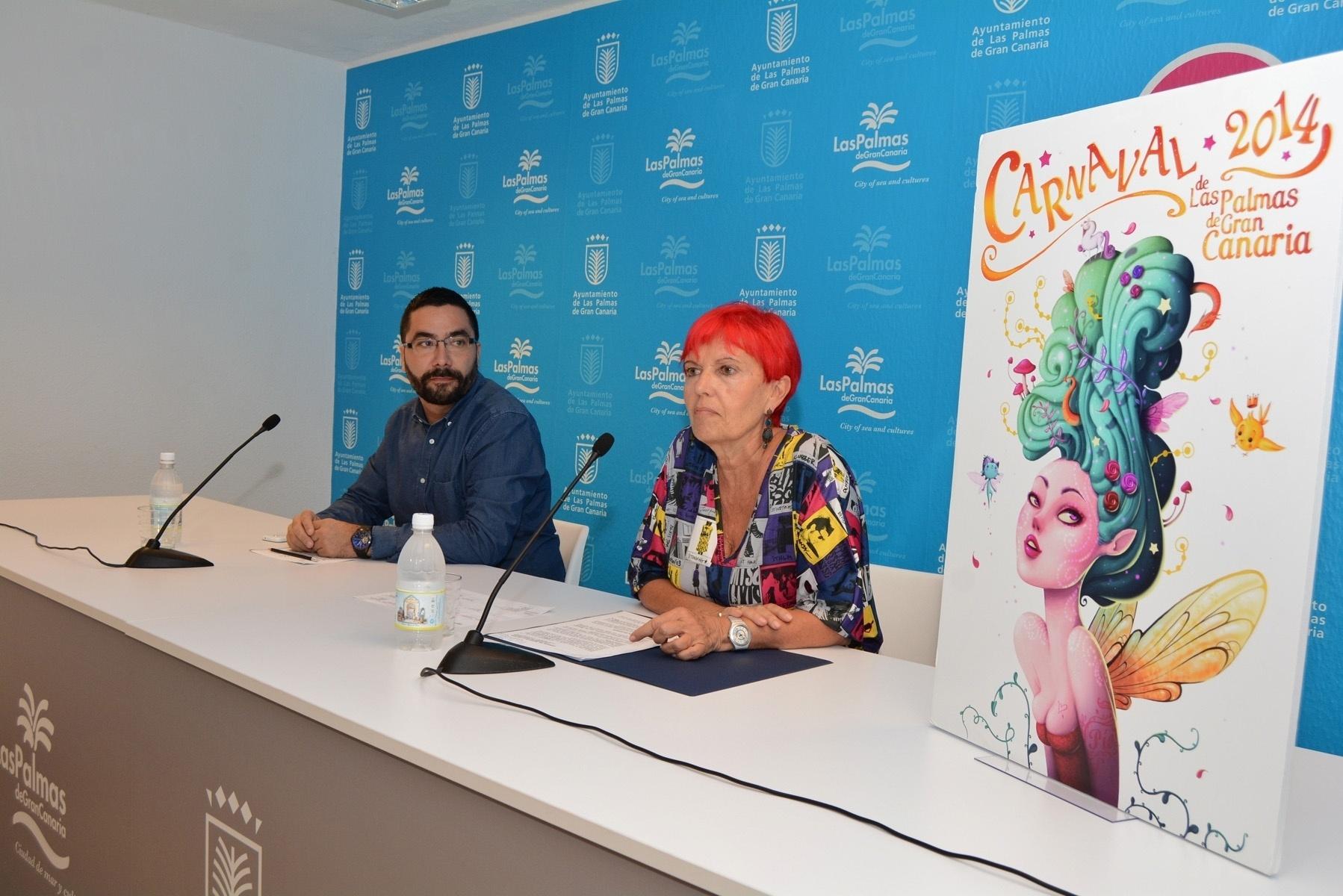 El Carnaval de Las Palmas de Gran Canaria tendrá 7 »Noches de Carnaval» en Santa Catalina y el pregón será en Santa Ana