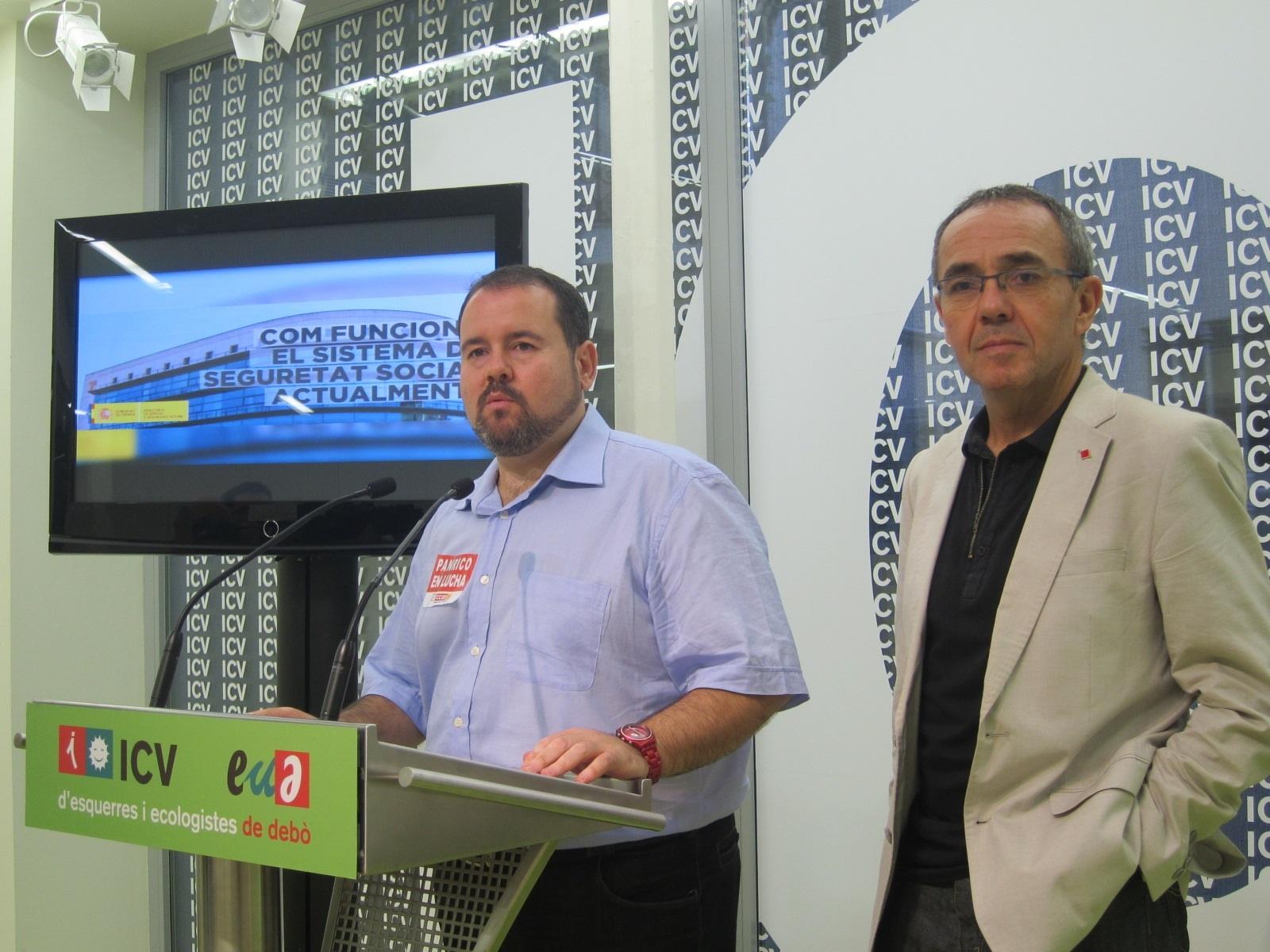 Coscubiela (ICV) defiende que por la «dignidad de los catalanes» Artur Mas debería haber plantado a la patronal