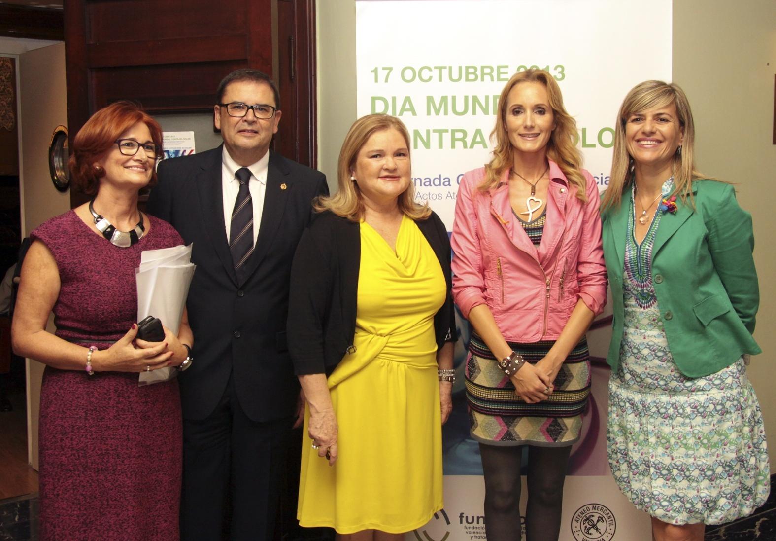 La Fundación Fundolor premia a la Generalitat valenciana por su implicación en el tratamiento del dolor en mayores