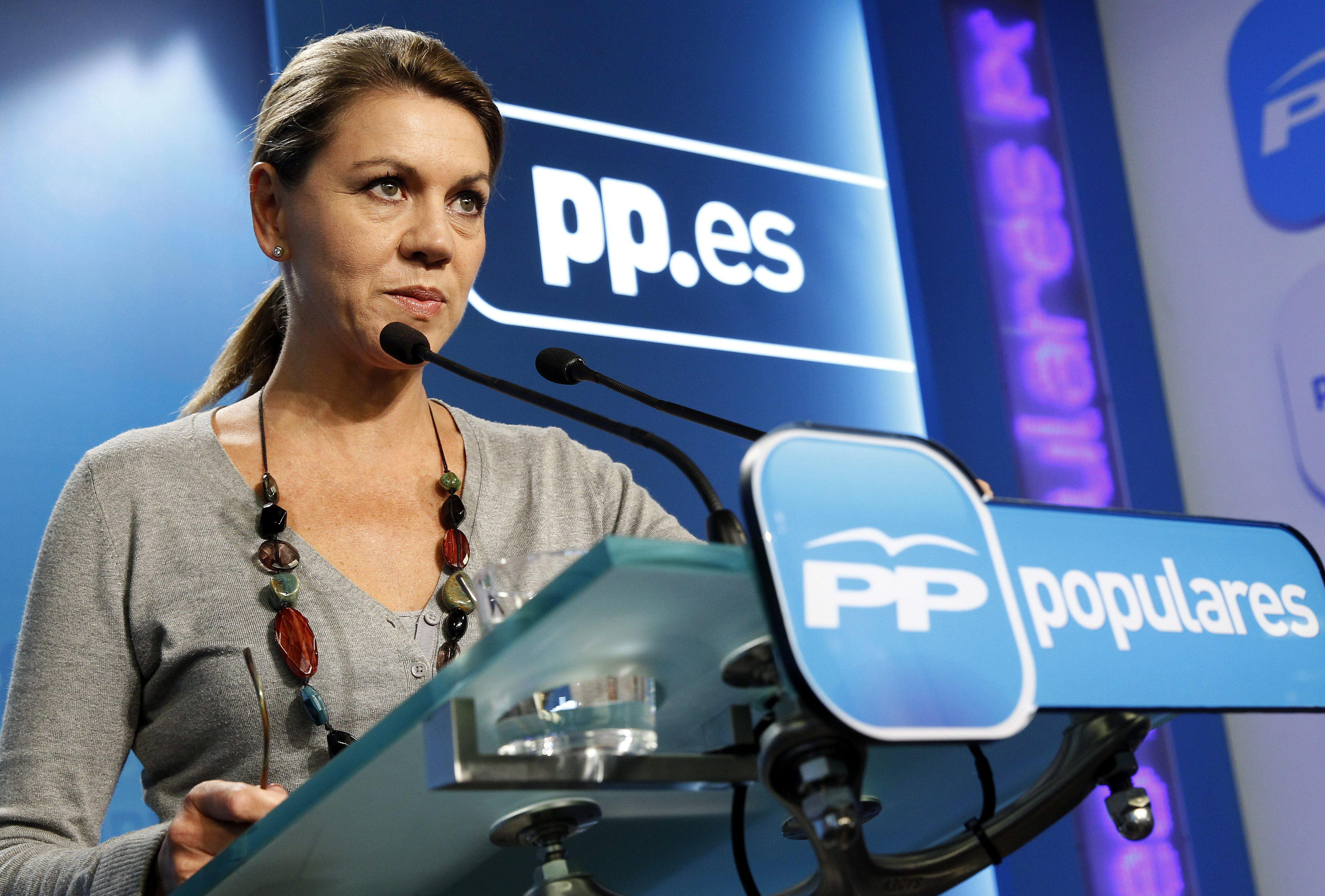 Bárcenas asegura que Cospedal cobró 7.500 euros en metálico en 2008