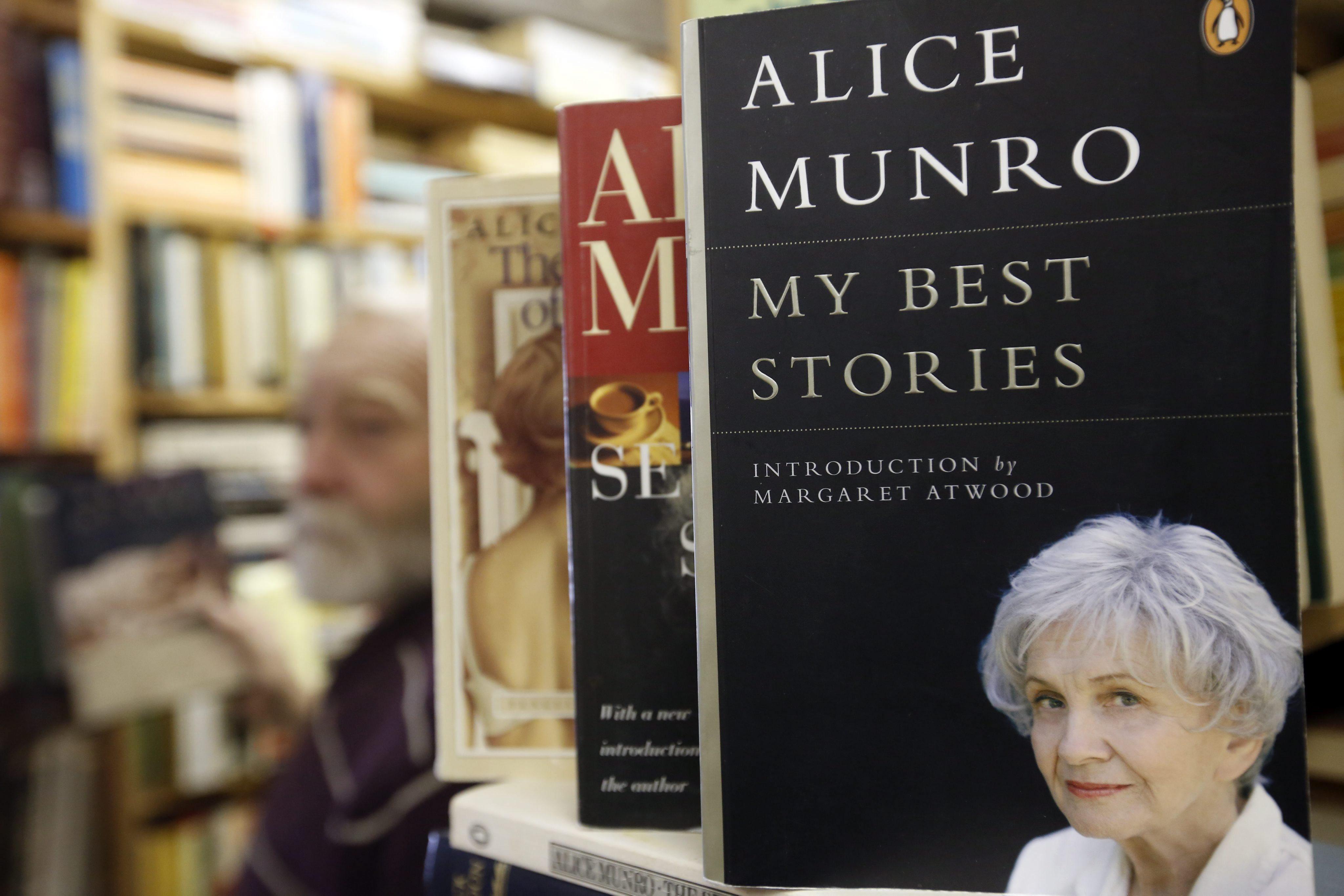 Munro no recogerá en Estocolmo el Nobel de Literatura por problemas de salud