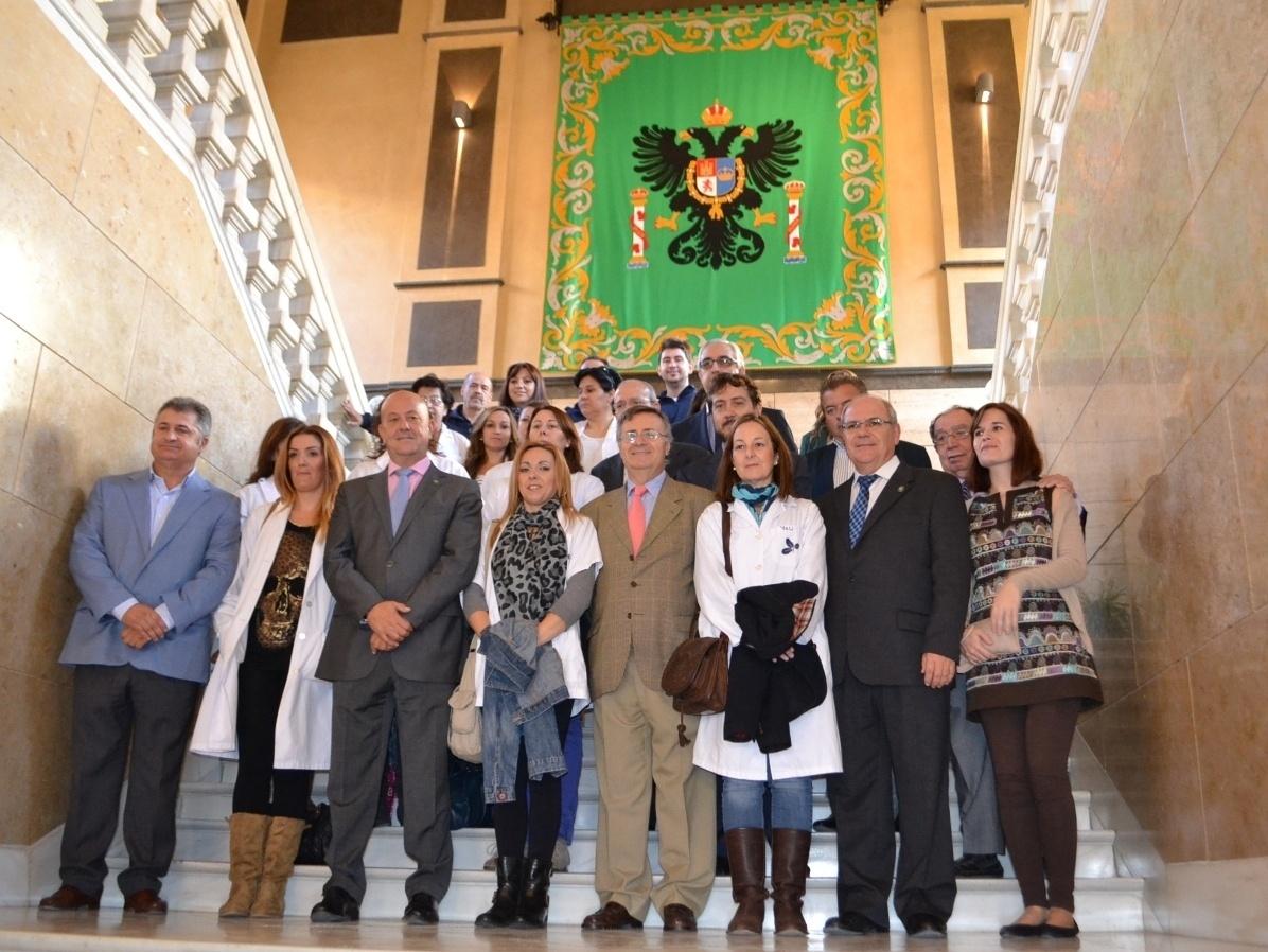 Nuevo escudo de la Diputación de Toledo con una corona imperial de oro que refleja la singularidad de la provincia