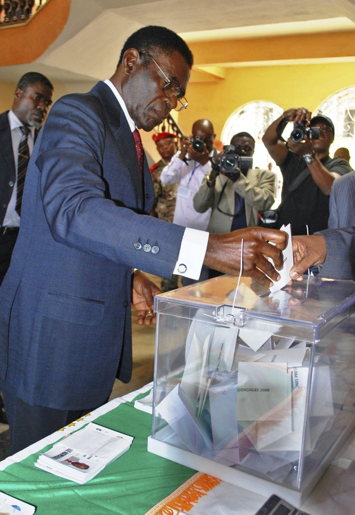 Obiang anuncia desde Malabo la salida de Guinea Ecuatorial de la CPI