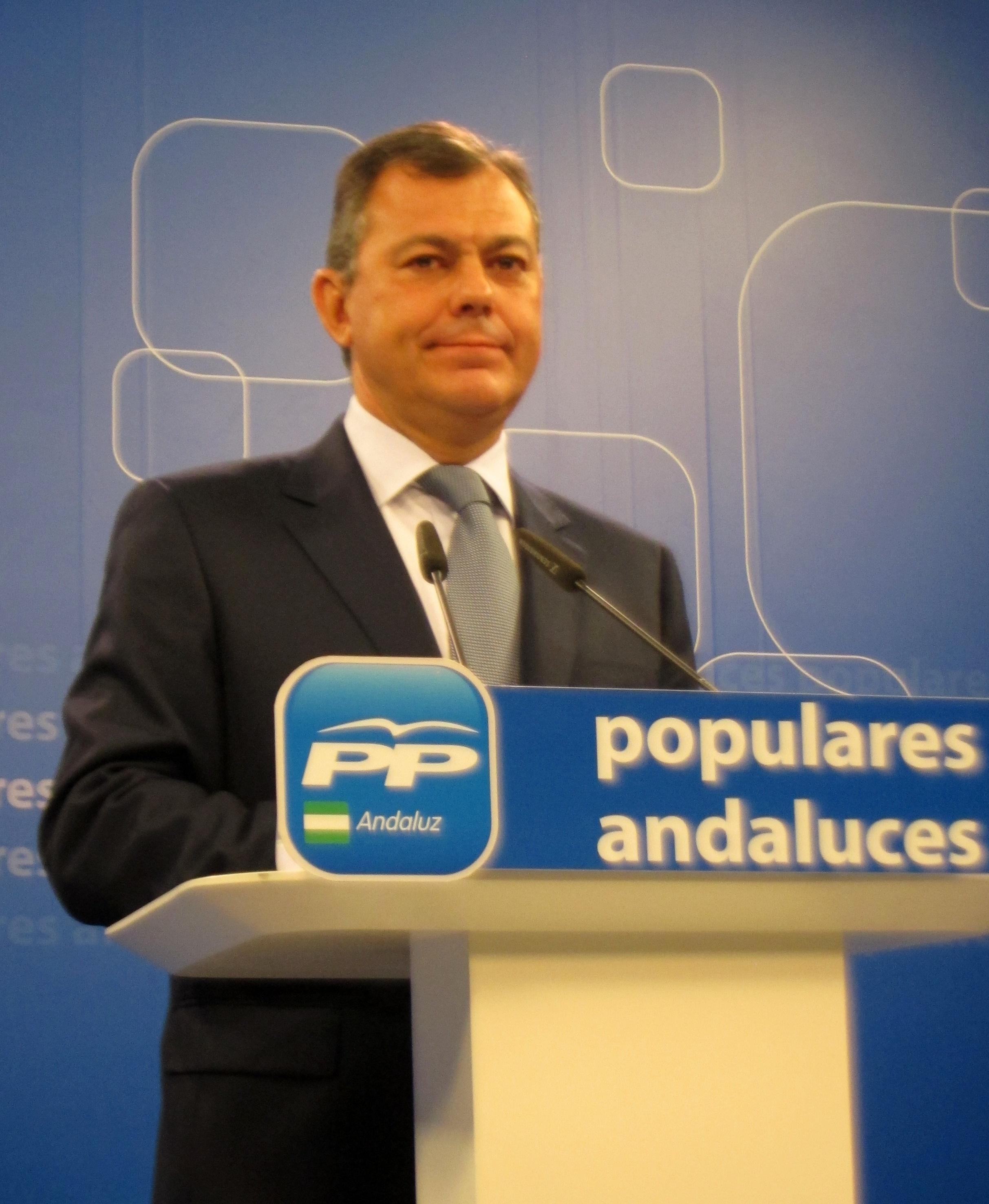 PP-A acusa a PSOE-A de «querer justificar los recortes del bipartito mintiendo sobre medidas adicionales» del Gobierno