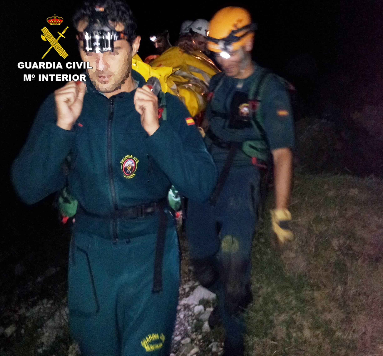 Rescatan a un senderista holandés que se cayó a una mina abandonada en Fuente Dé (Cantabria)