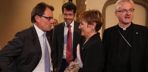 Mas acusa al Estado de crear un «mal innecesario» con su «dialéctica entre catalán y castellano»