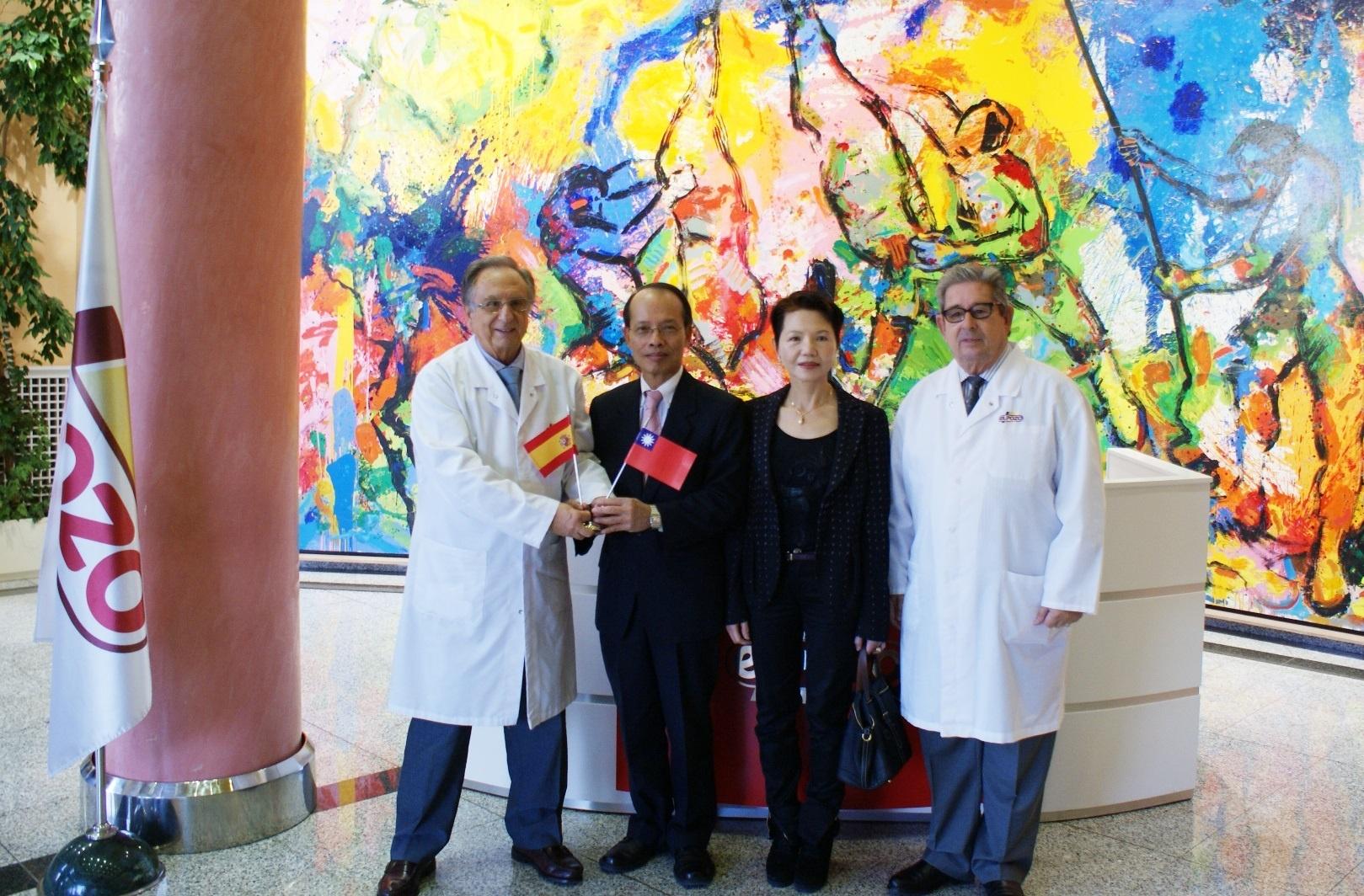 El embajador taiwanés visita ElPozo Alimentación