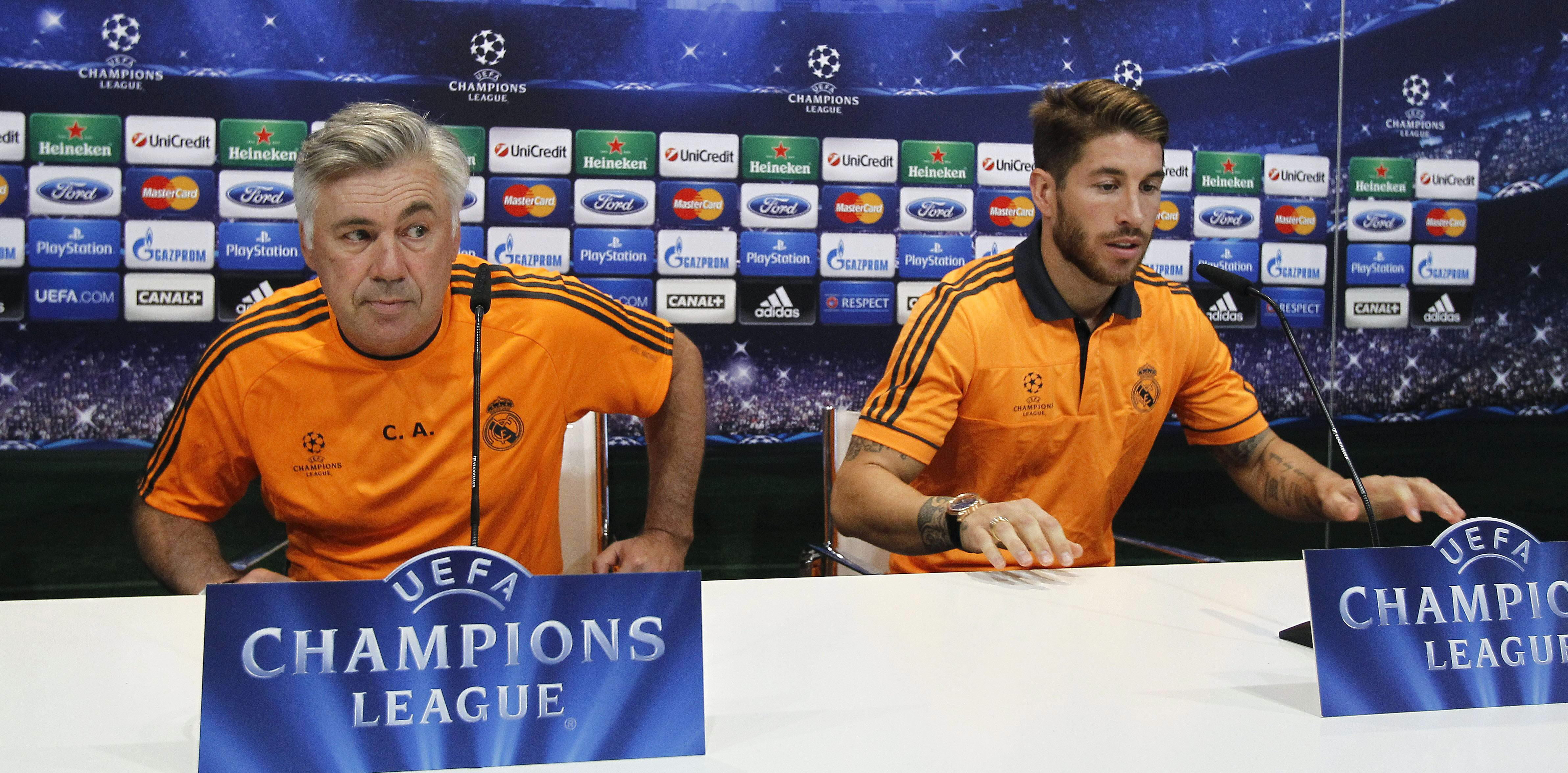 Ancelotti: «Aunque no era su jornada, ha tenido mucha sangre fría para tirar el penalti»